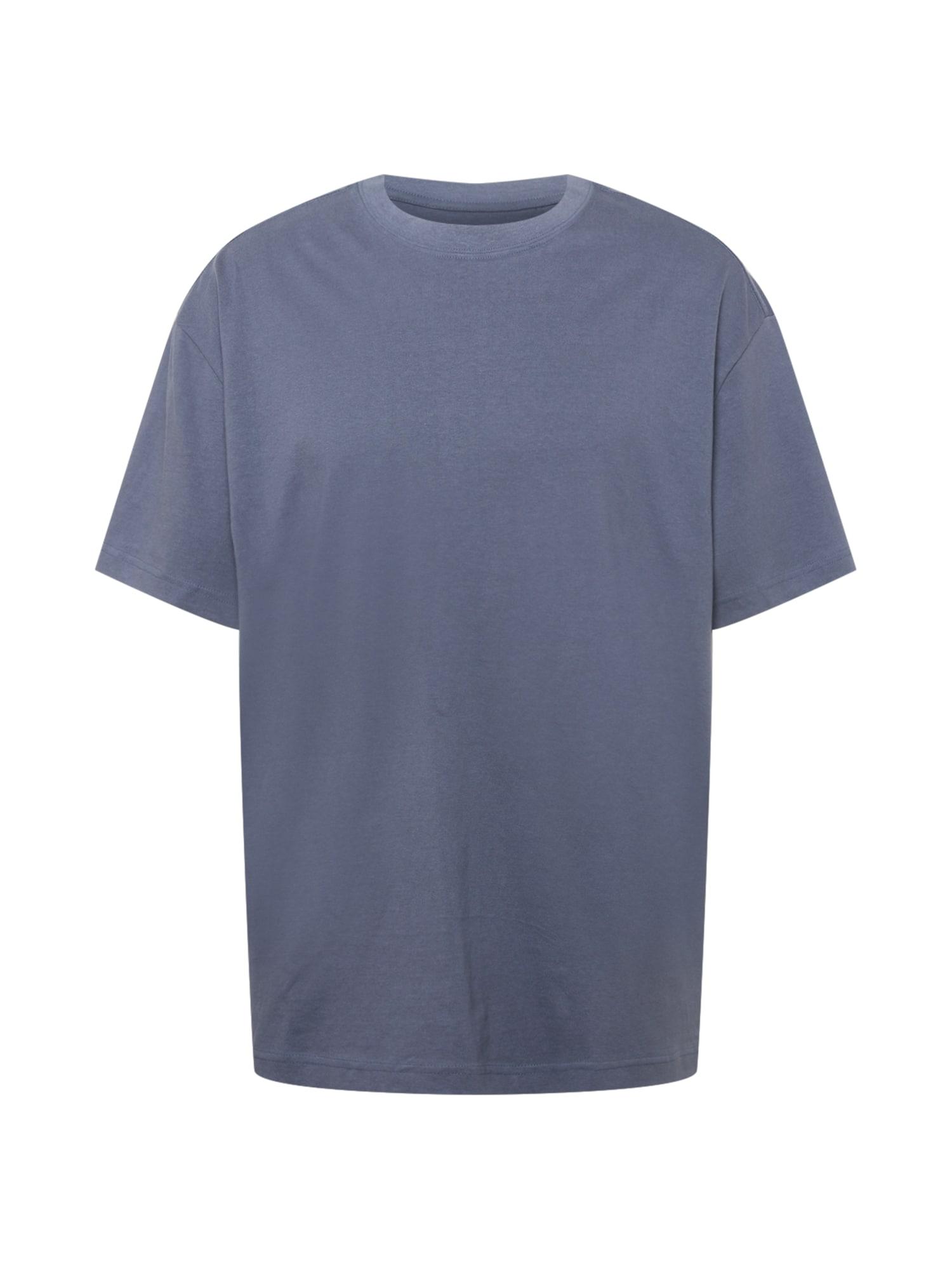 WEEKDAY Tričko  chladná modrá