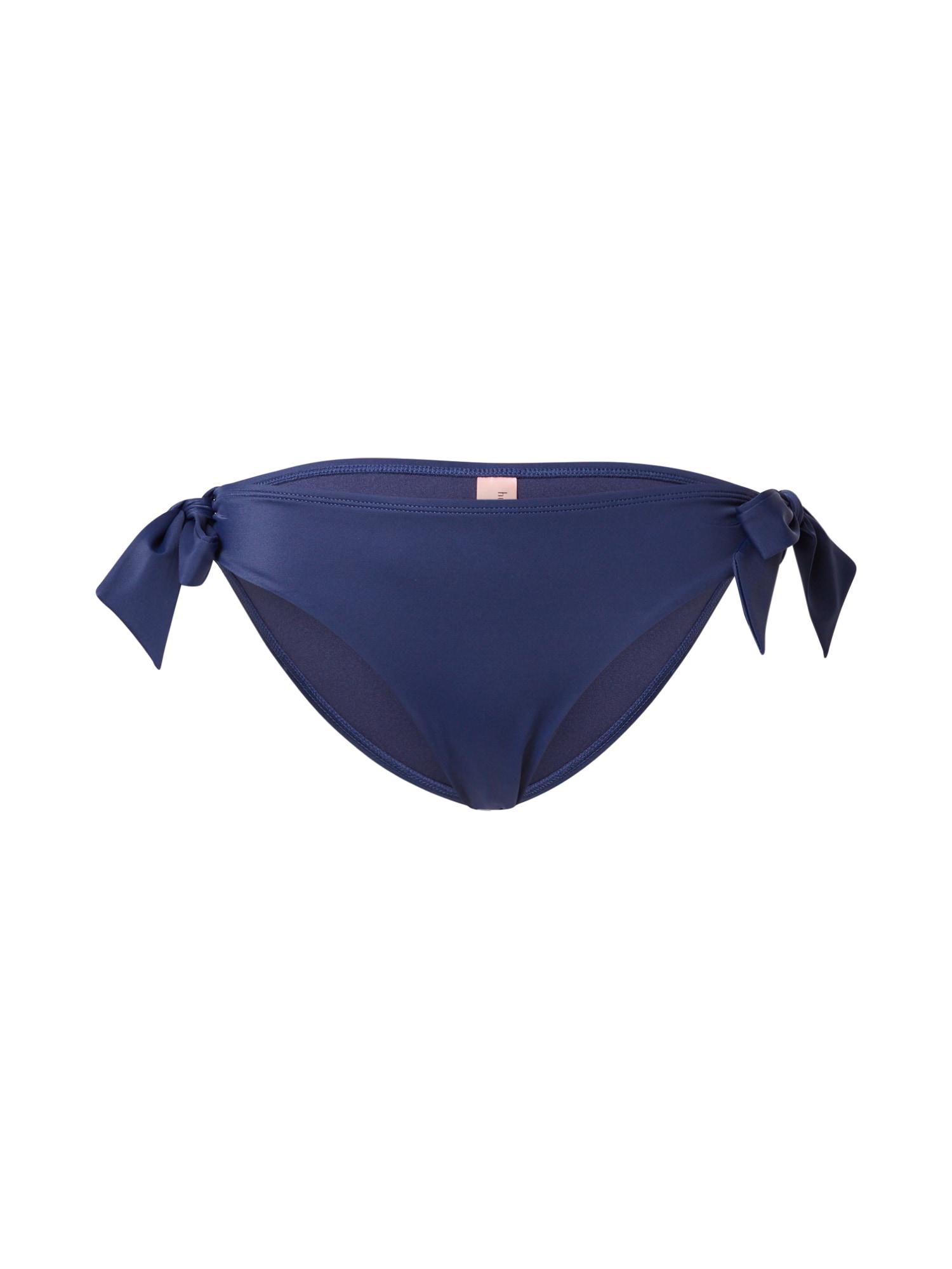 Hunkemöller Bikinio kelnaitės tamsiai mėlyna