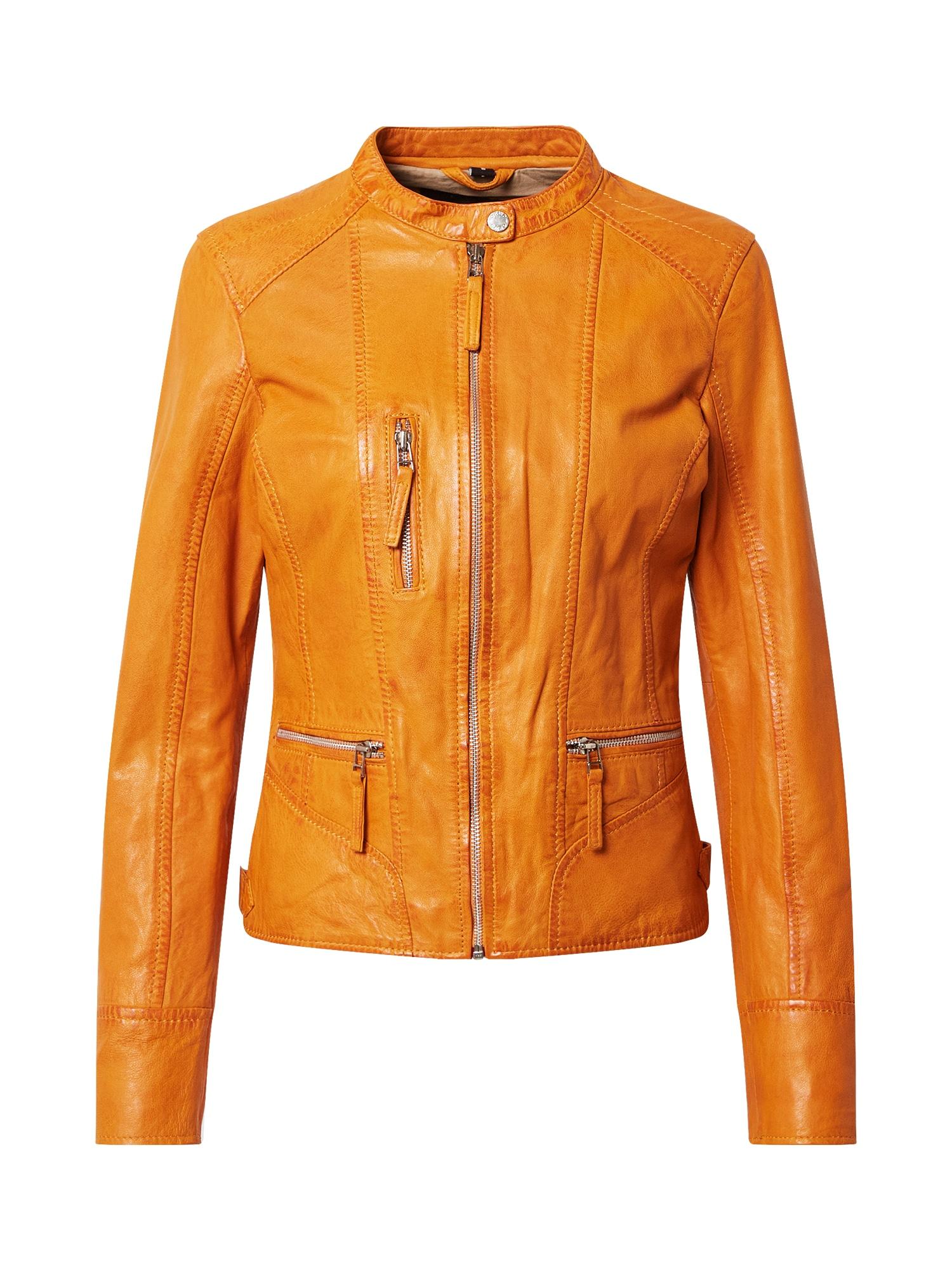 OAKWOOD Demisezoninė striukė mandarinų spalva