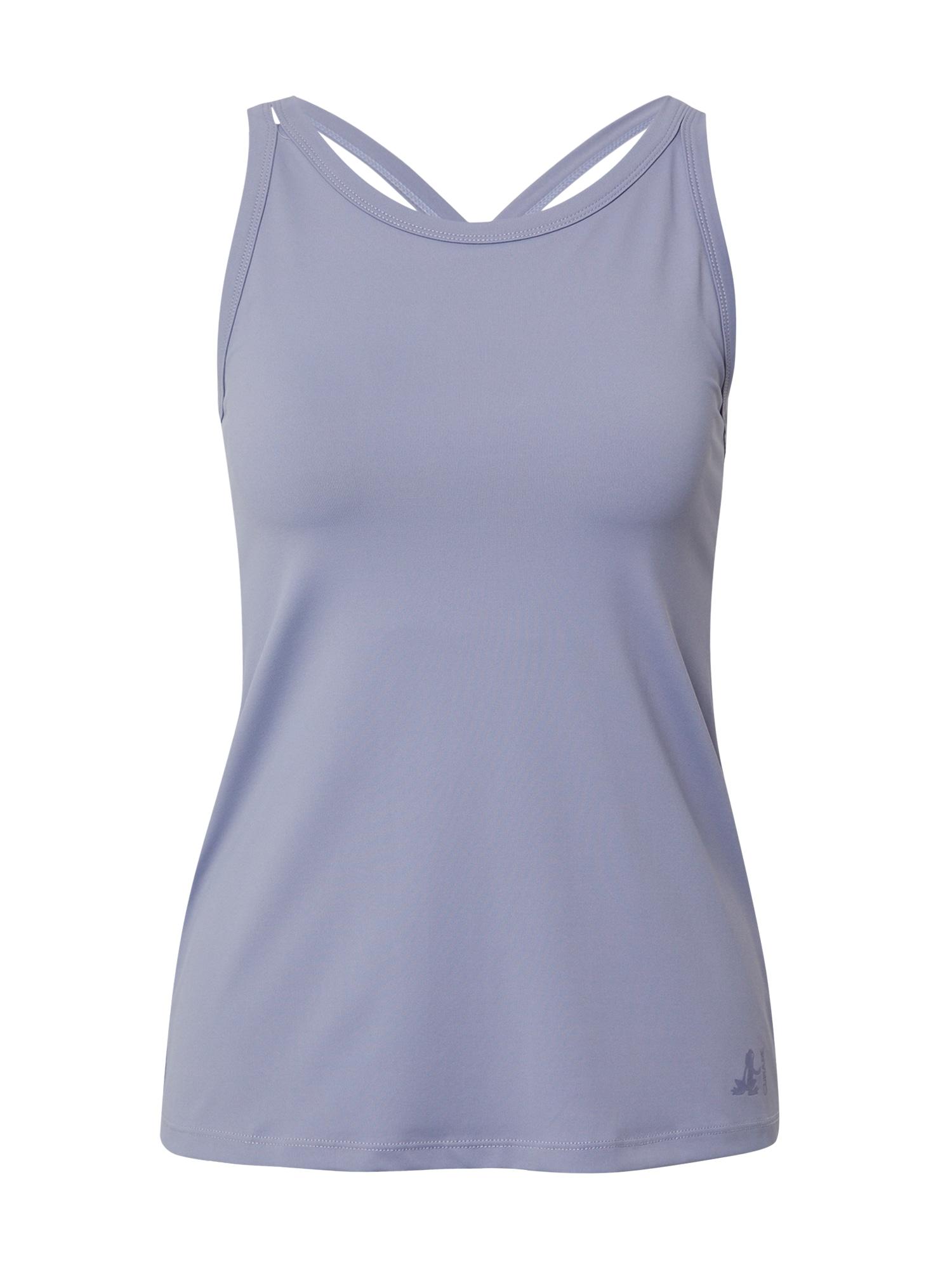CURARE Yogawear Sportiniai marškinėliai be rankovių šviesiai violetinė