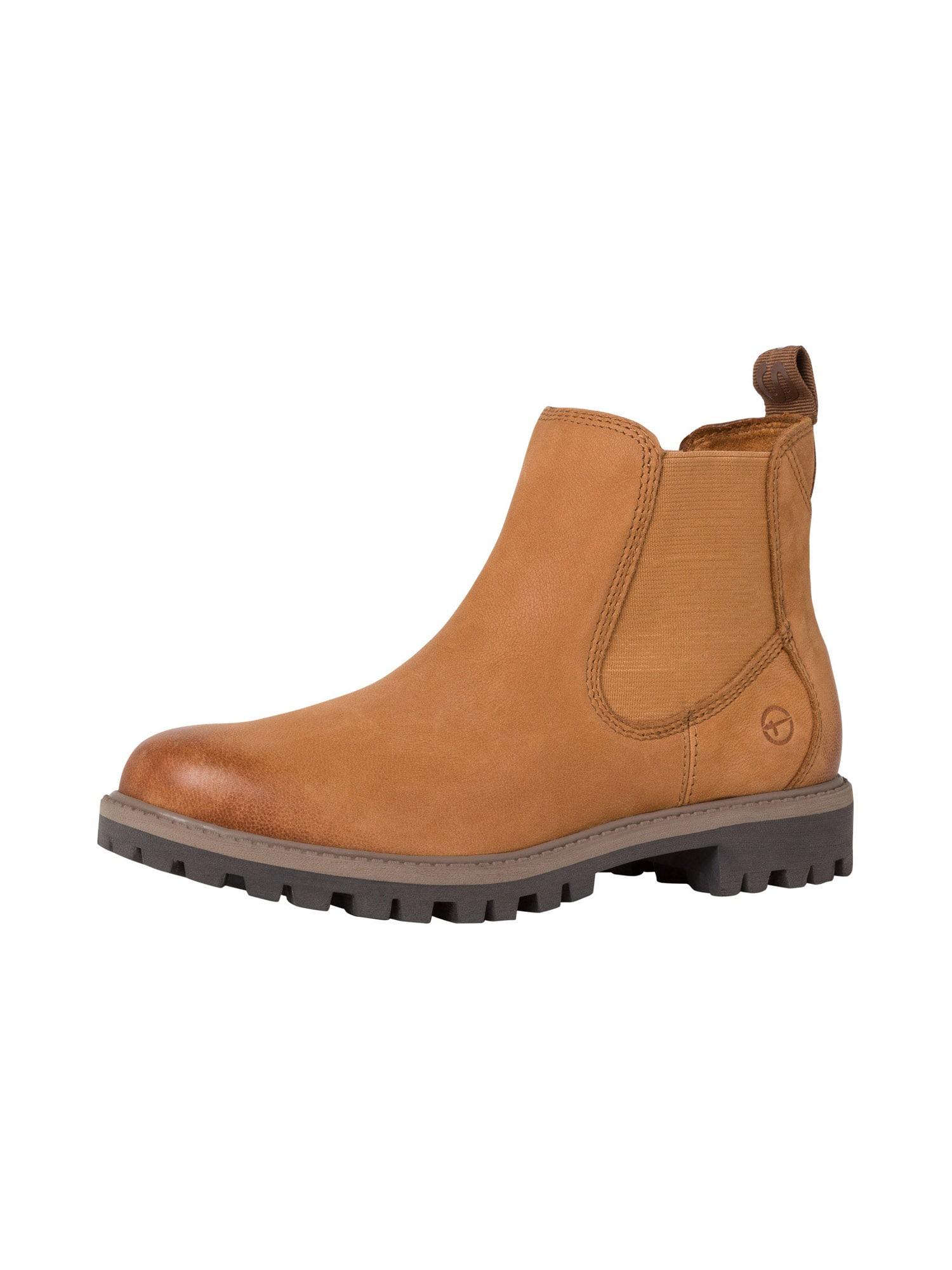 TAMARIS Chelsea boty  světle hnědá
