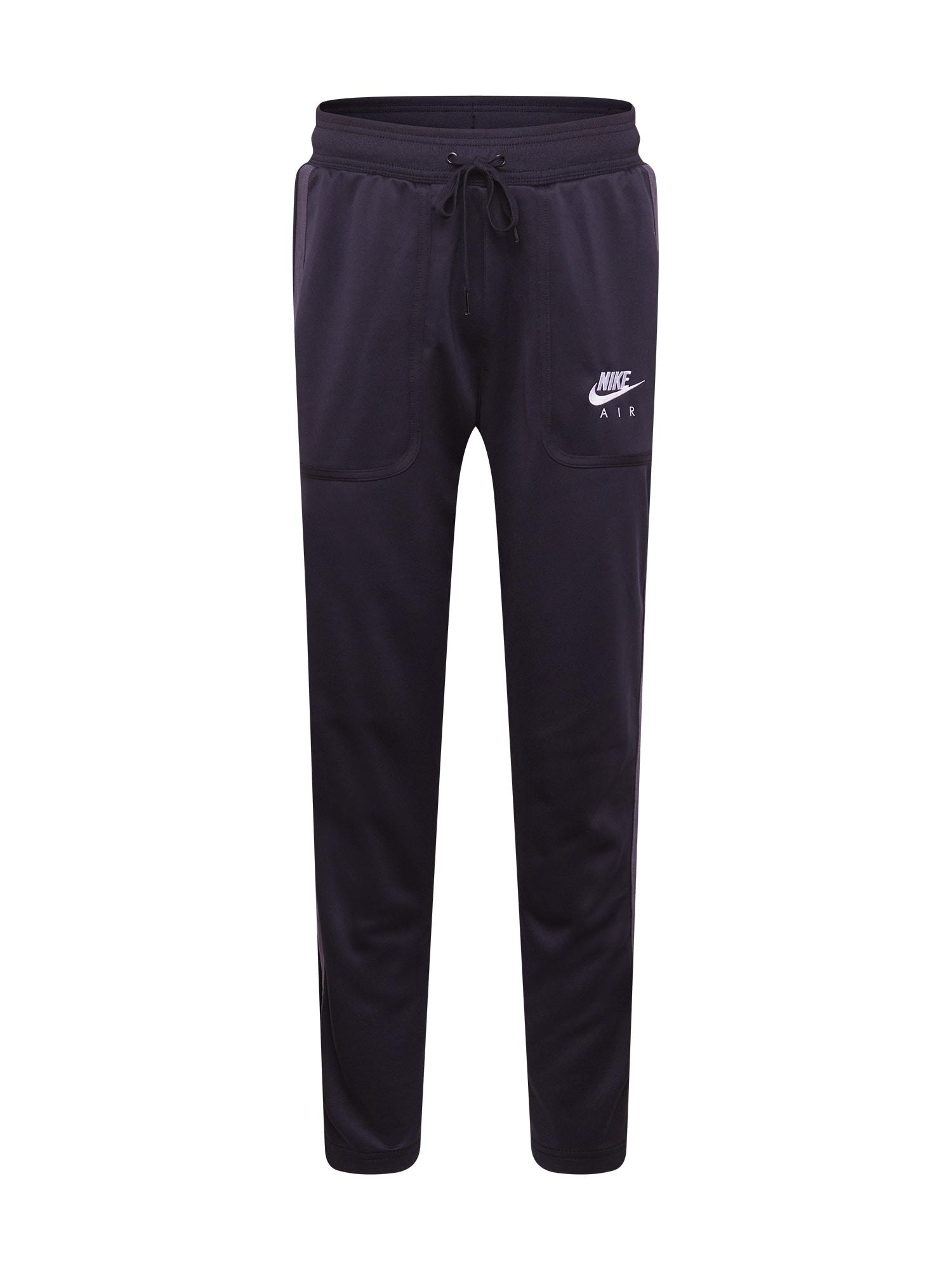 Nike Sportswear Kelnės juoda / balta / grafito