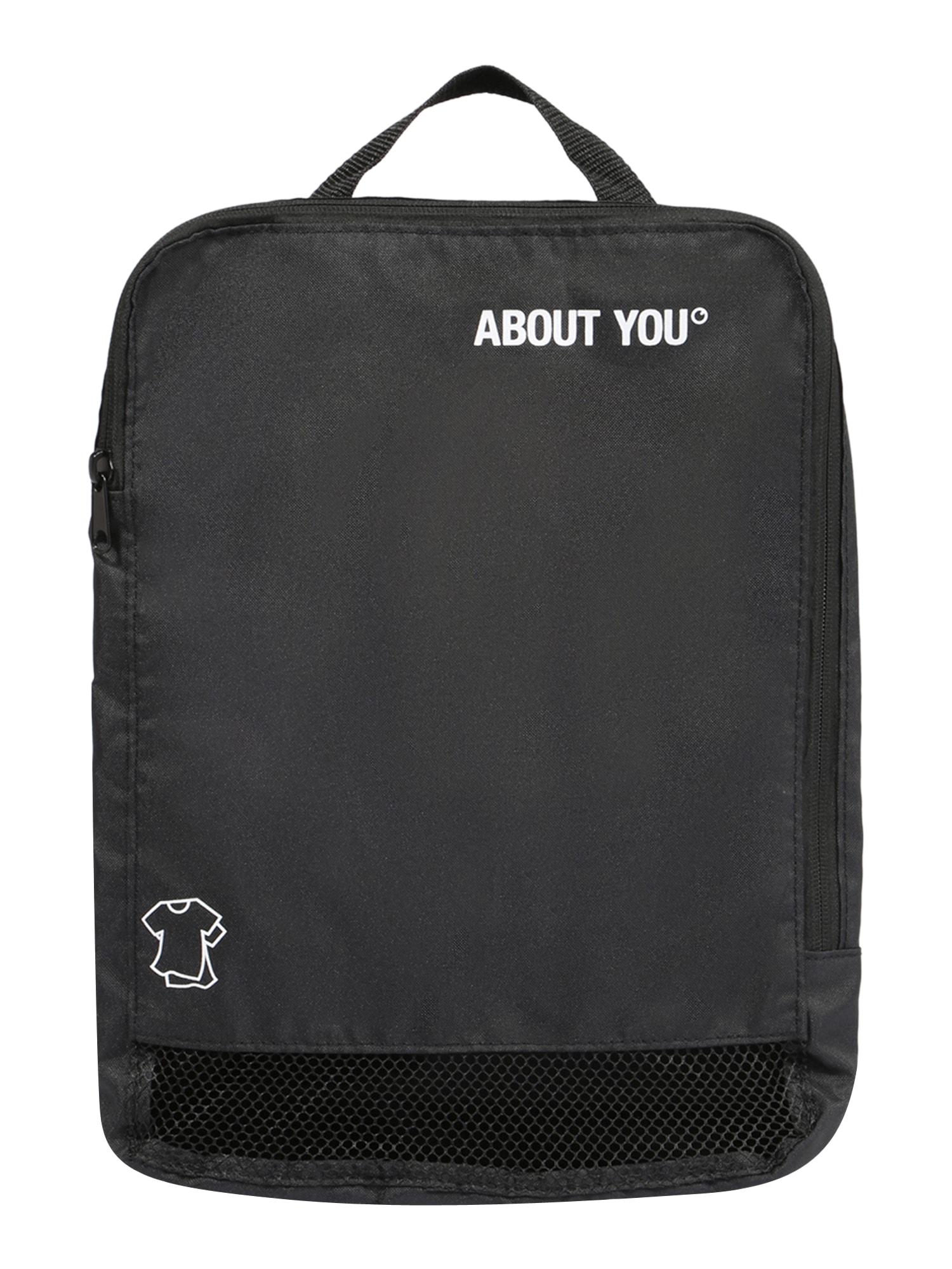 ABOUT YOU Kelioninis krepšys juoda