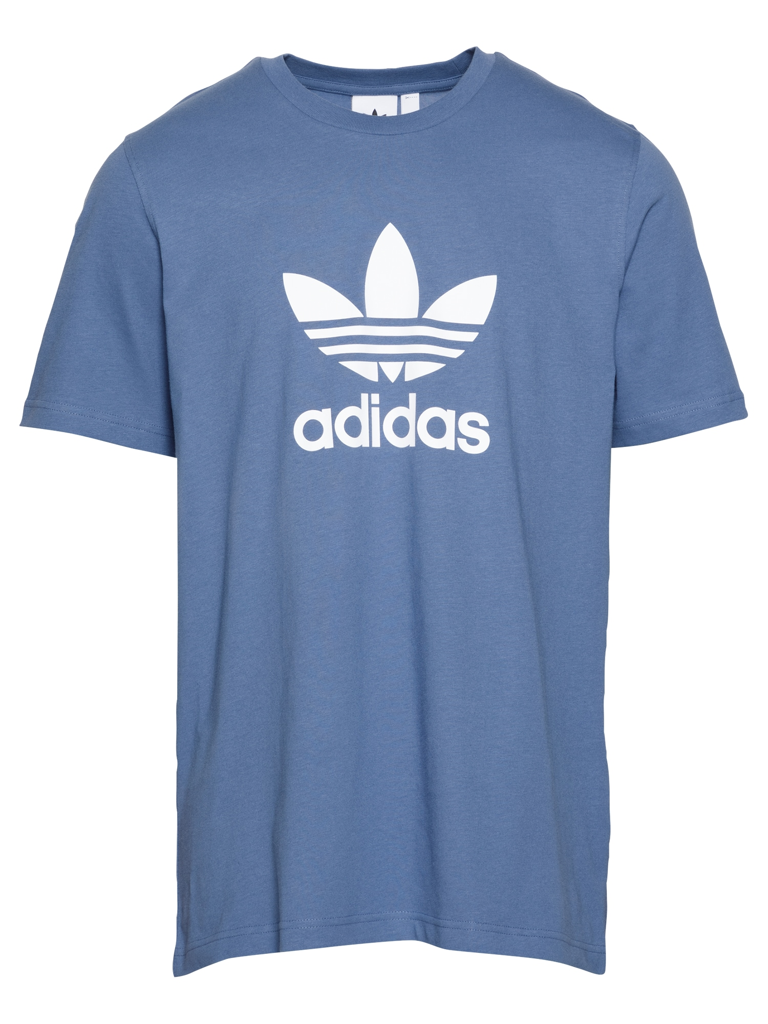 ADIDAS ORIGINALS Marškinėliai mėlyna dūmų spalva / balta