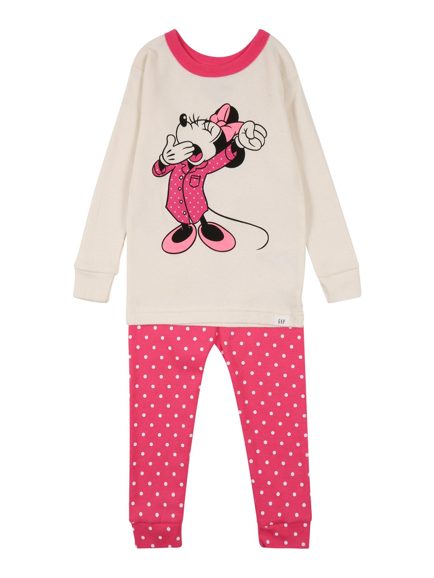 GAP Miego kostiumas rožinė / juoda / balta / šviesiai rožinė