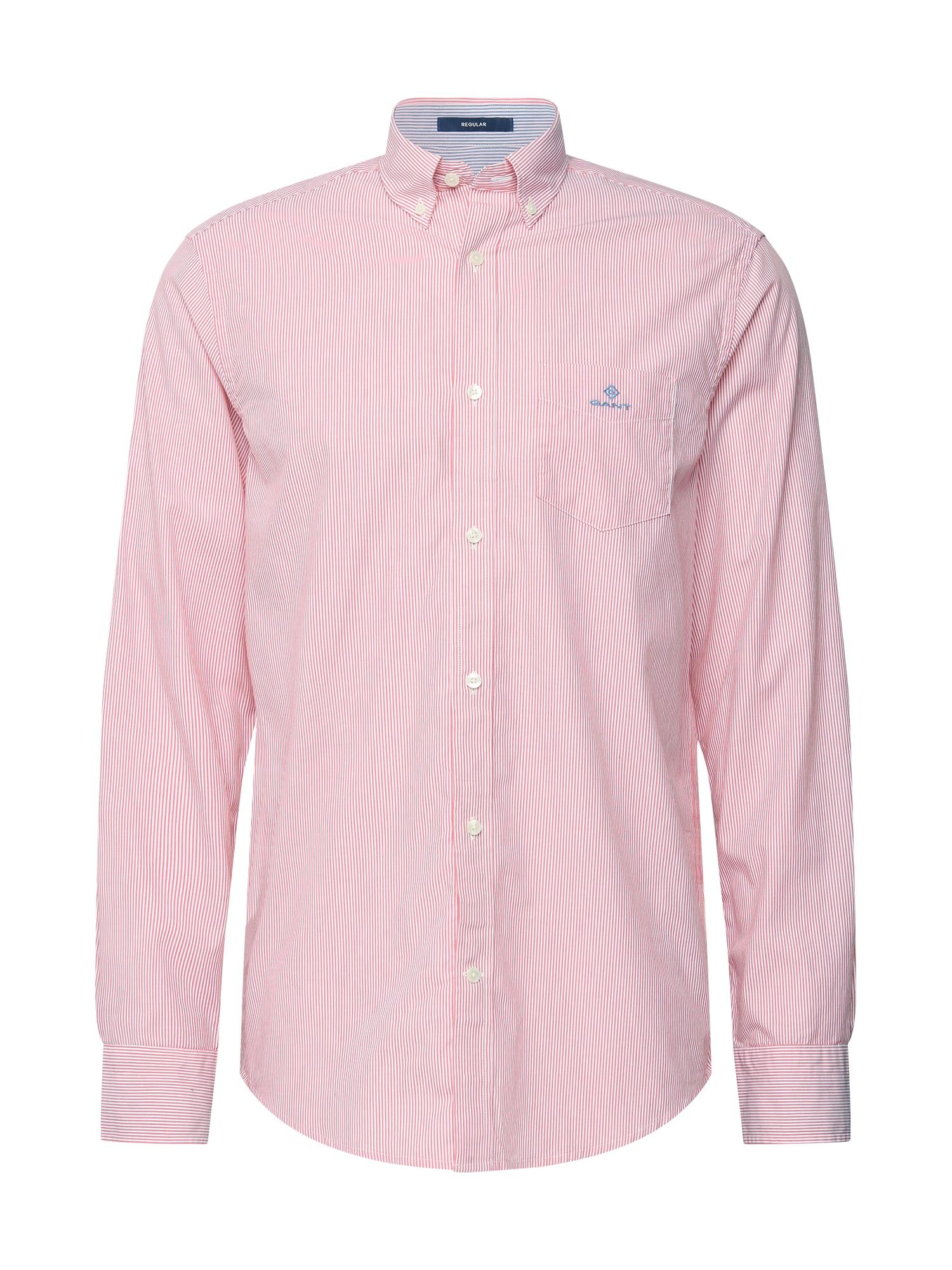 GANT Marškiniai balta / rožinė