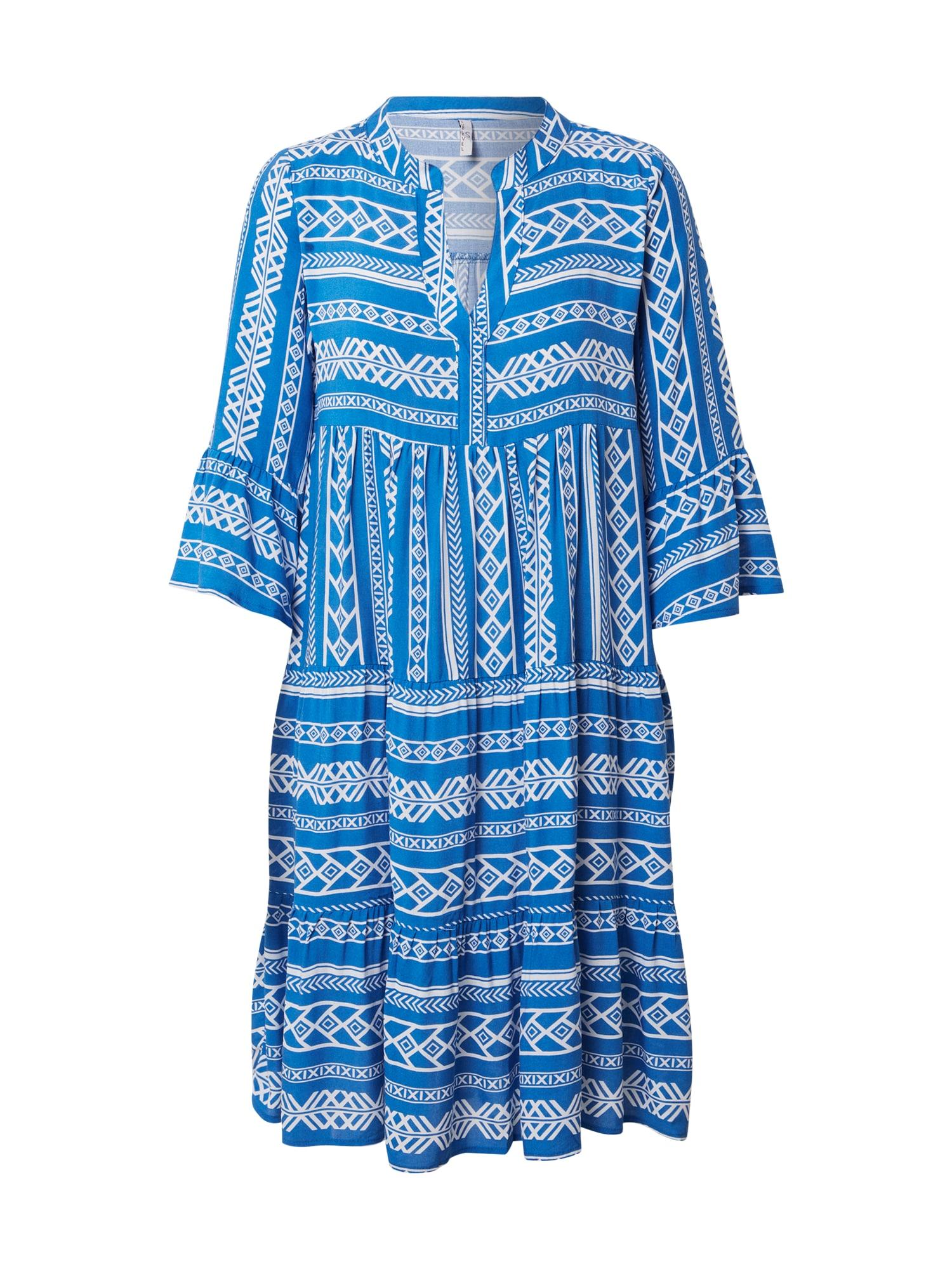 Sublevel Palaidinės tipo suknelė mėlyna / balta