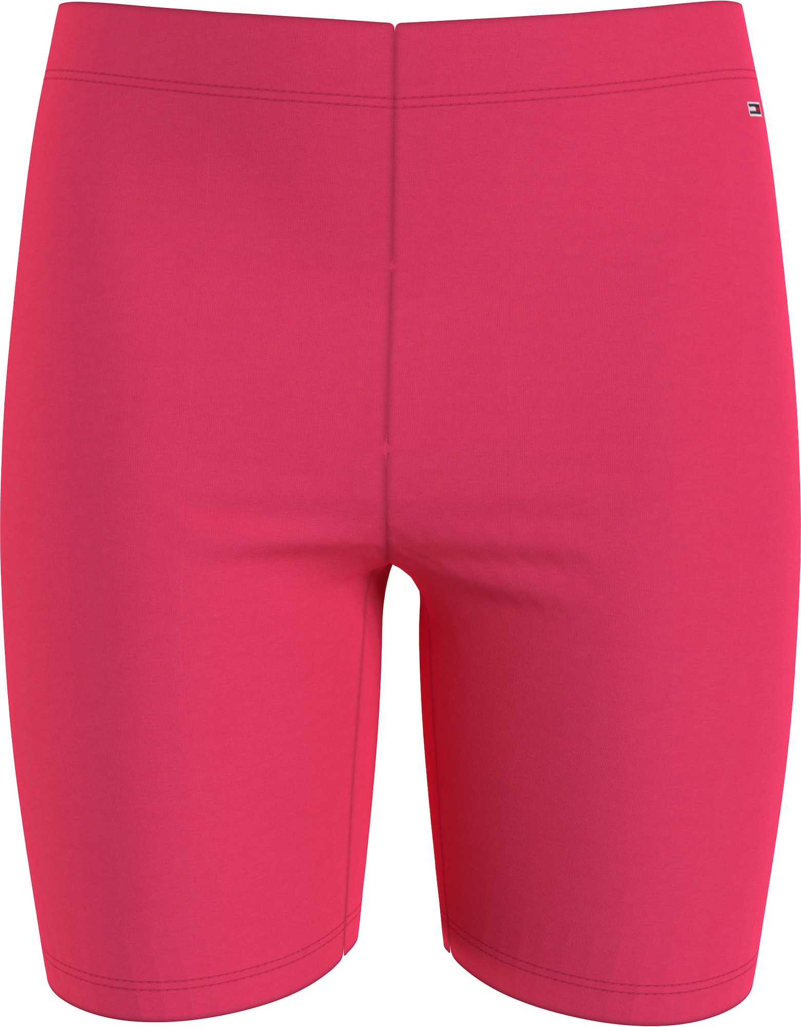 Tommy Jeans Kelnės rožinė / balta
