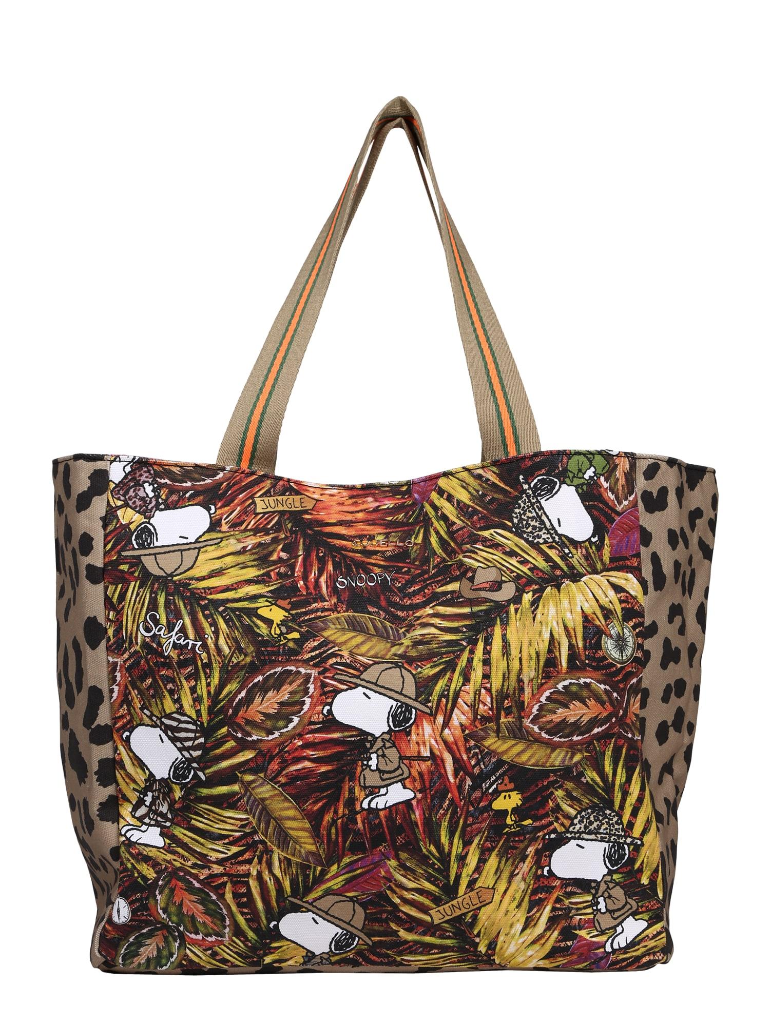 CODELLO Pirkinių krepšys mišrios spalvos