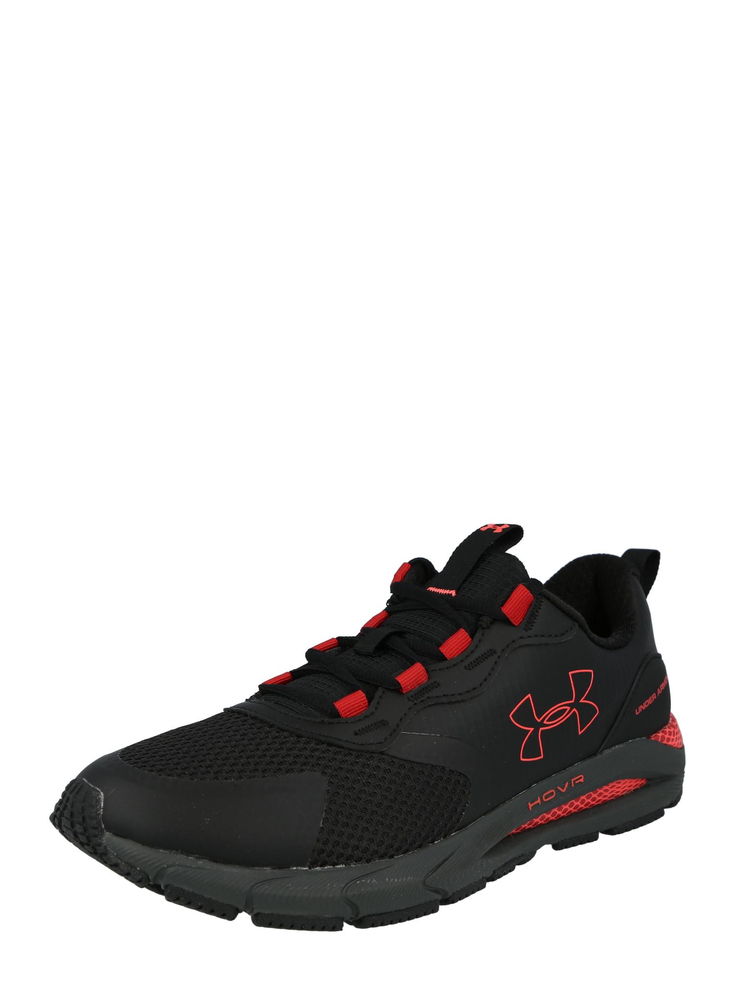 UNDER ARMOUR Sportiniai batai juoda / raudona