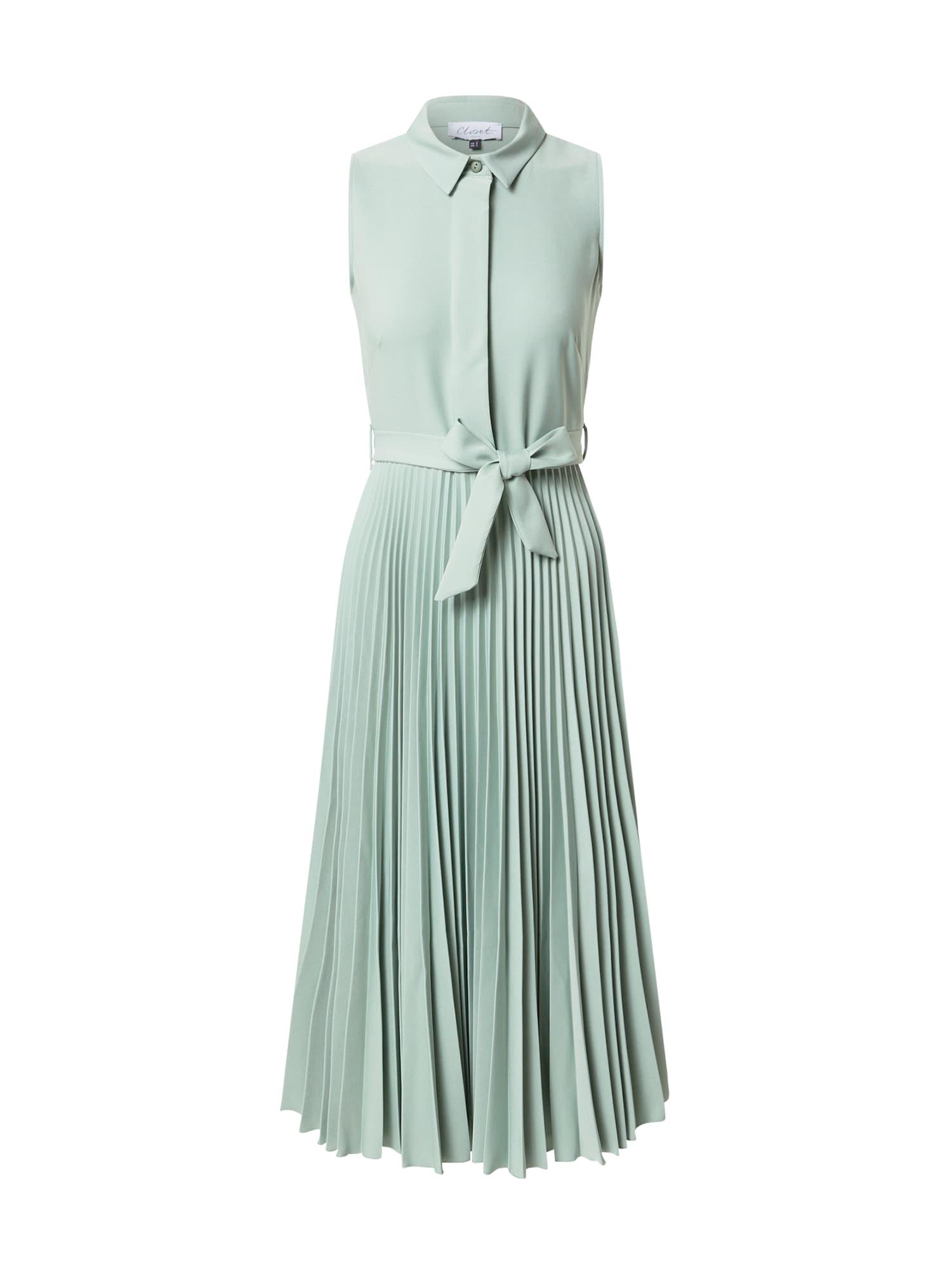Closet London Palaidinės tipo suknelė mėtų spalva
