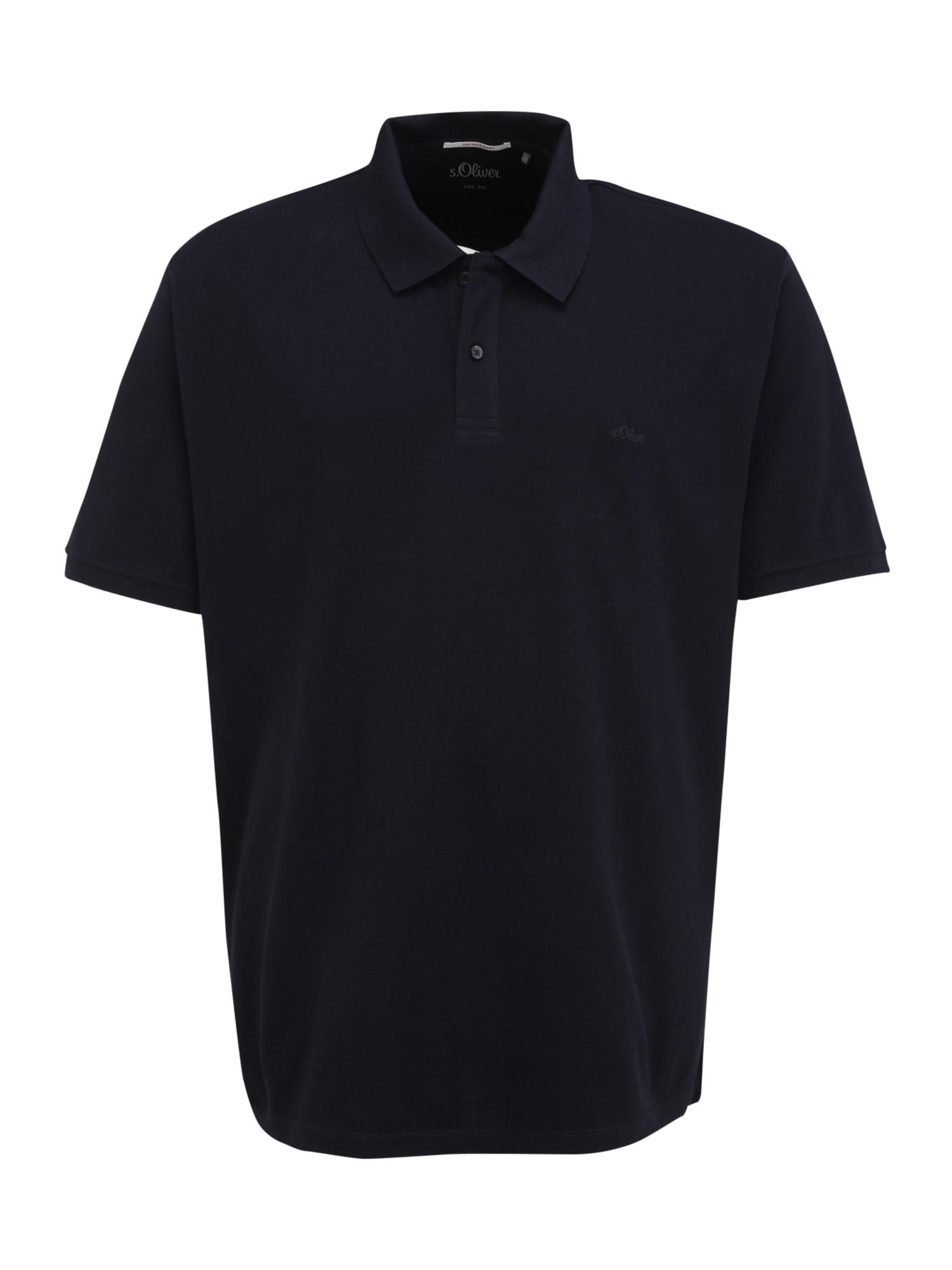 s.Oliver Red Label Big & Tall Marškinėliai tamsiai mėlyna