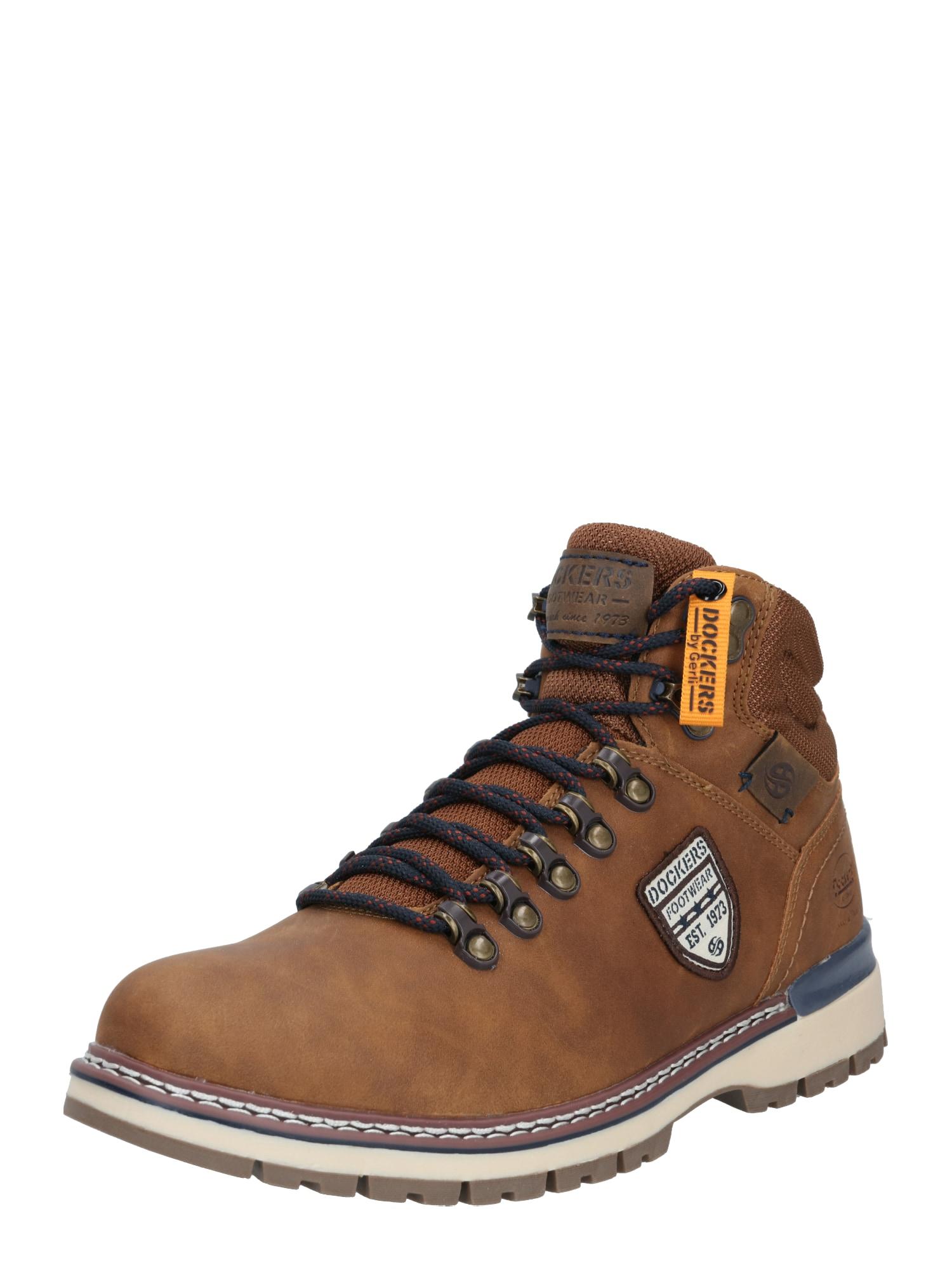Dockers by Gerli Auliniai batai su raišteliais ruda (konjako)