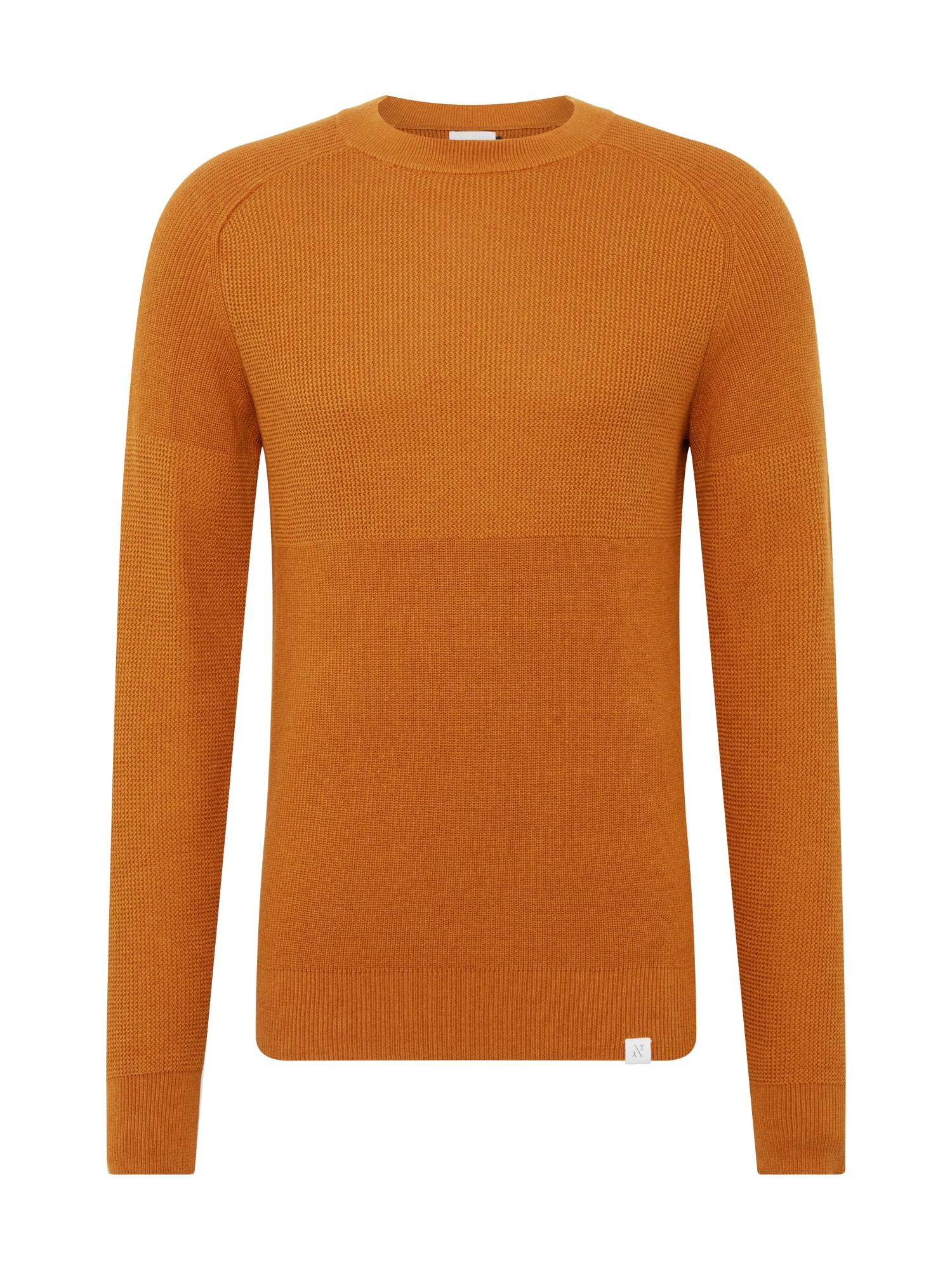 NOWADAYS Megztinis ruda (konjako) / tamsiai oranžinė