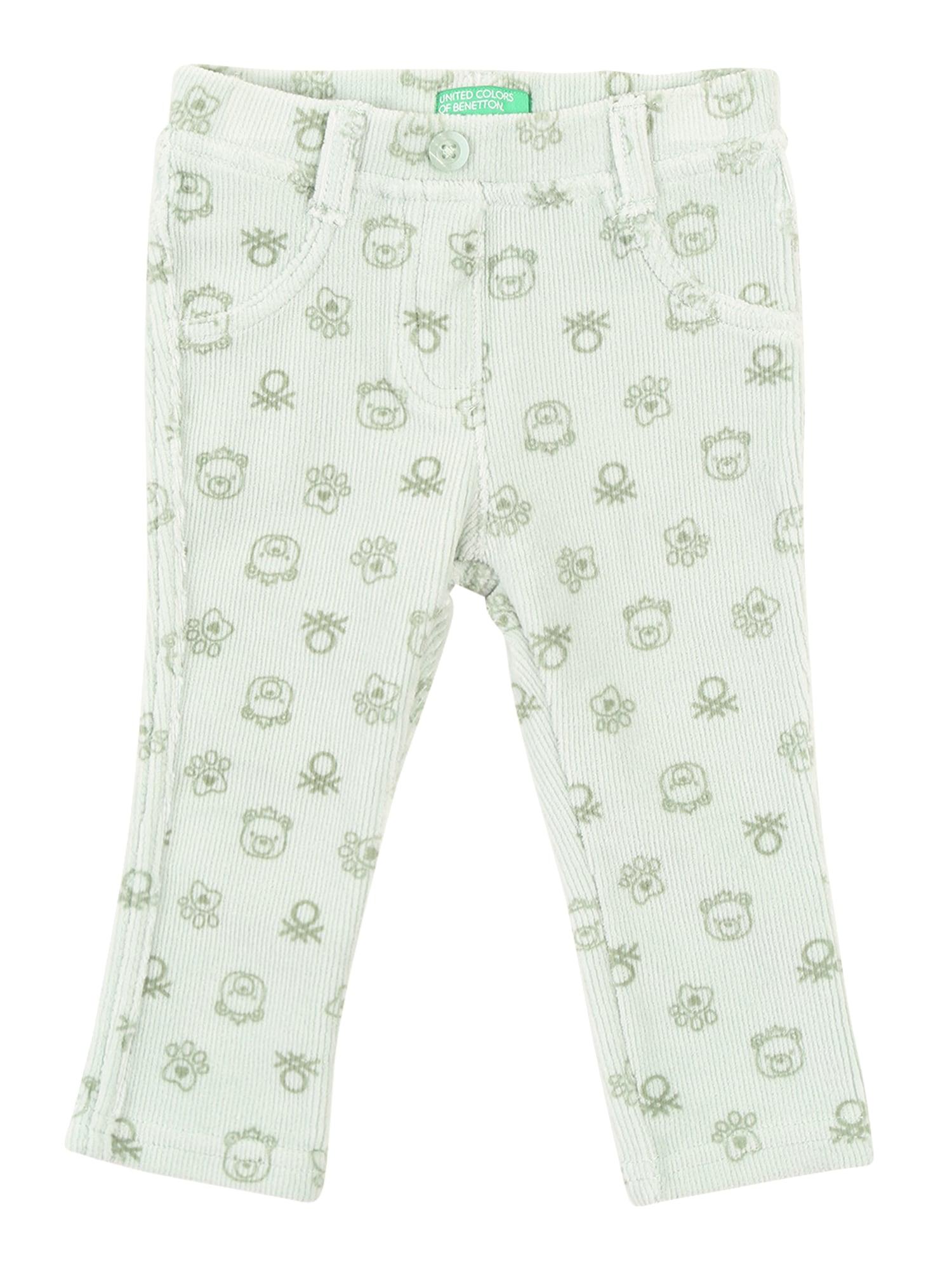 UNITED COLORS OF BENETTON Džinsai 'Trousers' šviesiai žalia