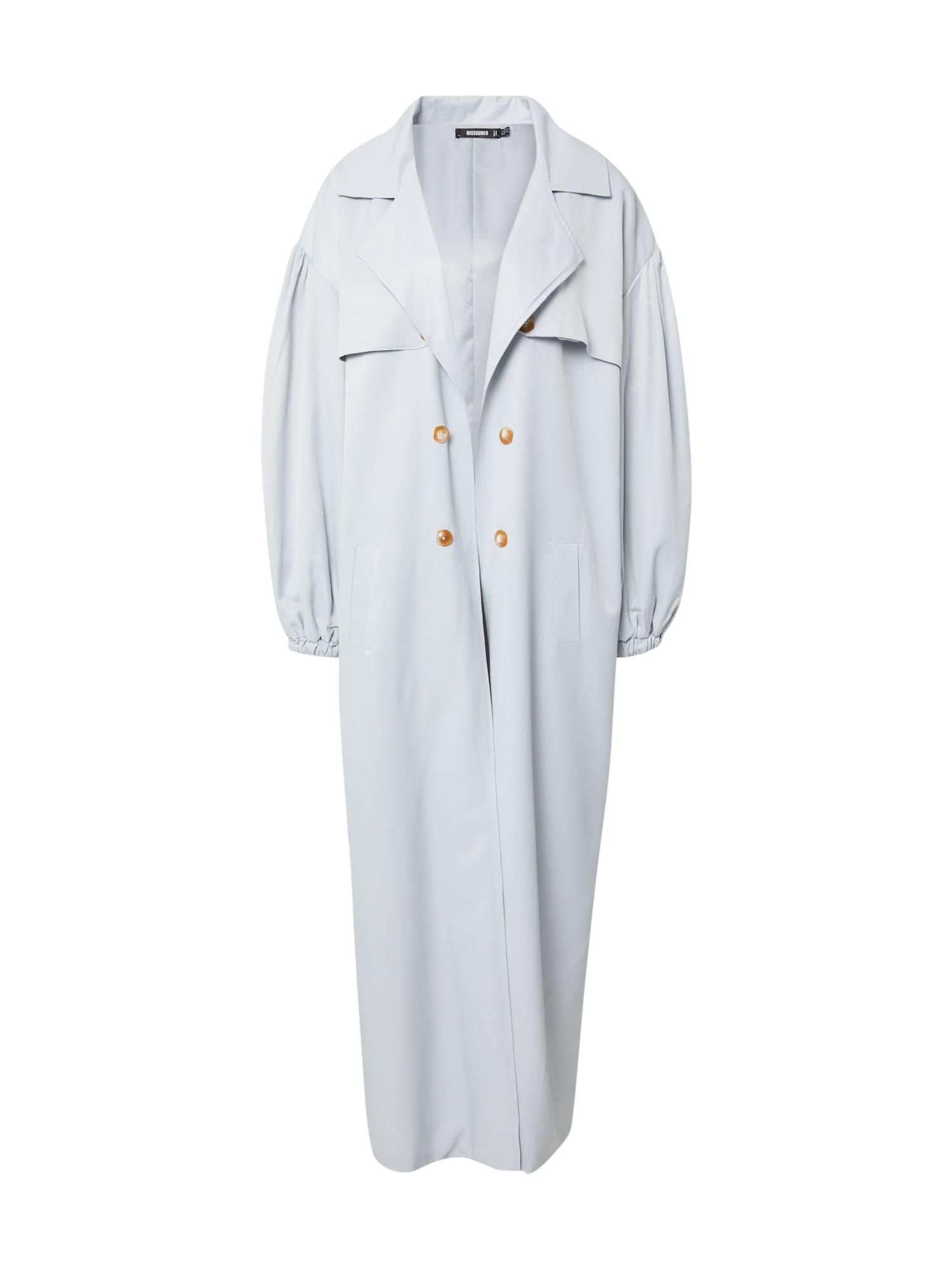 Missguided Demisezoninis paltas šviesiai mėlyna