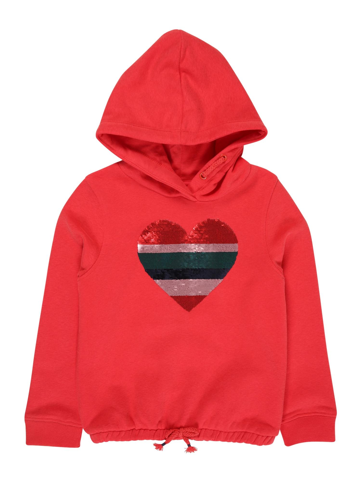 STACCATO Megztinis be užsegimo melionų spalva / karmino raudona / tamsiai žalia / sidabrinė / tamsiai mėlyna
