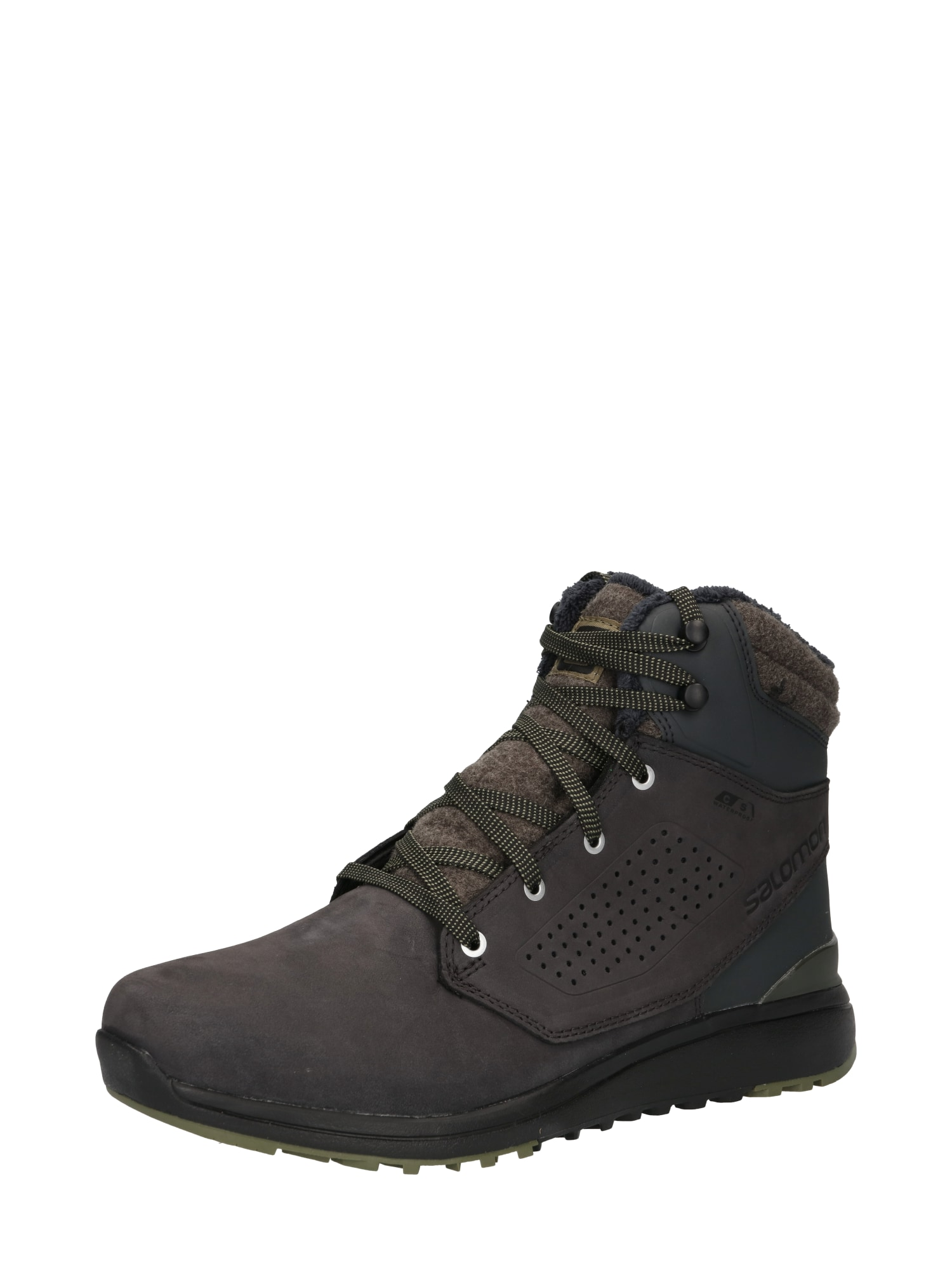 SALOMON Šněrovací boty  černá
