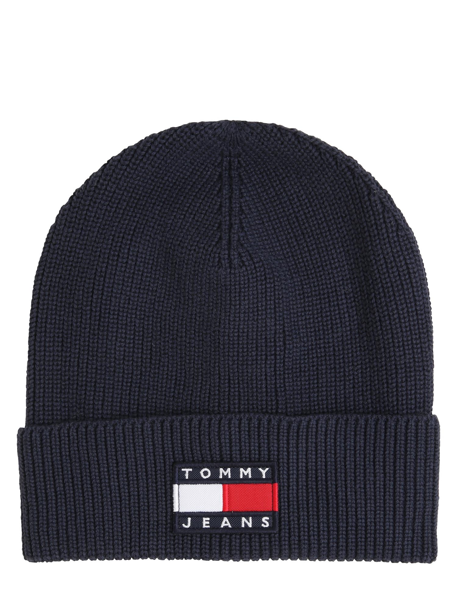 Tommy Jeans Čepice 'HERITAGE'  tmavě modrá / bílá / červená