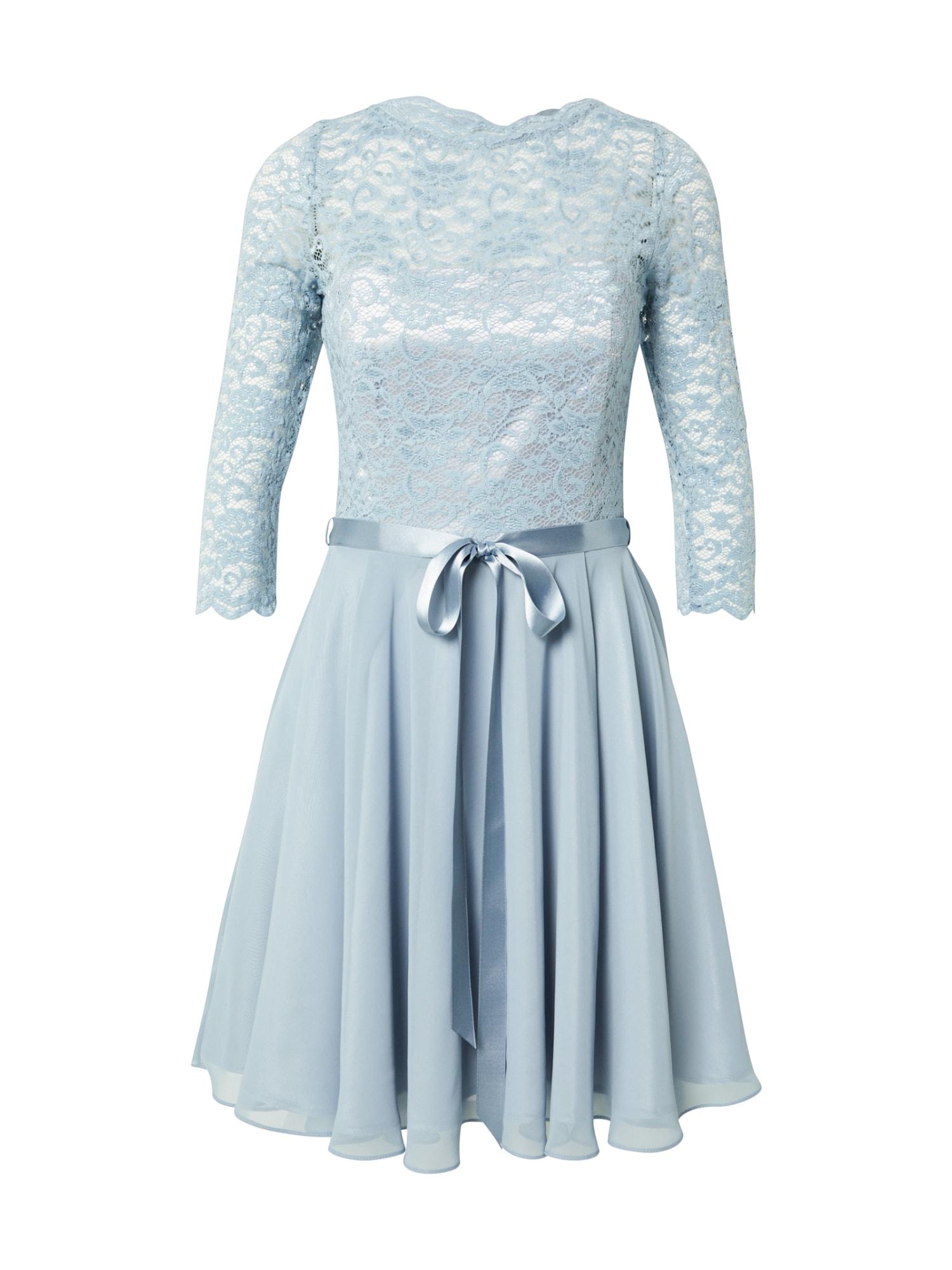 SWING Kokteilinė suknelė šviesiai mėlyna