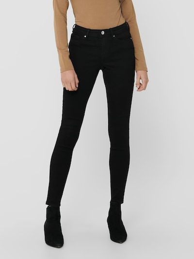 Only Wauw Life Mid Rise Skinny Jeans