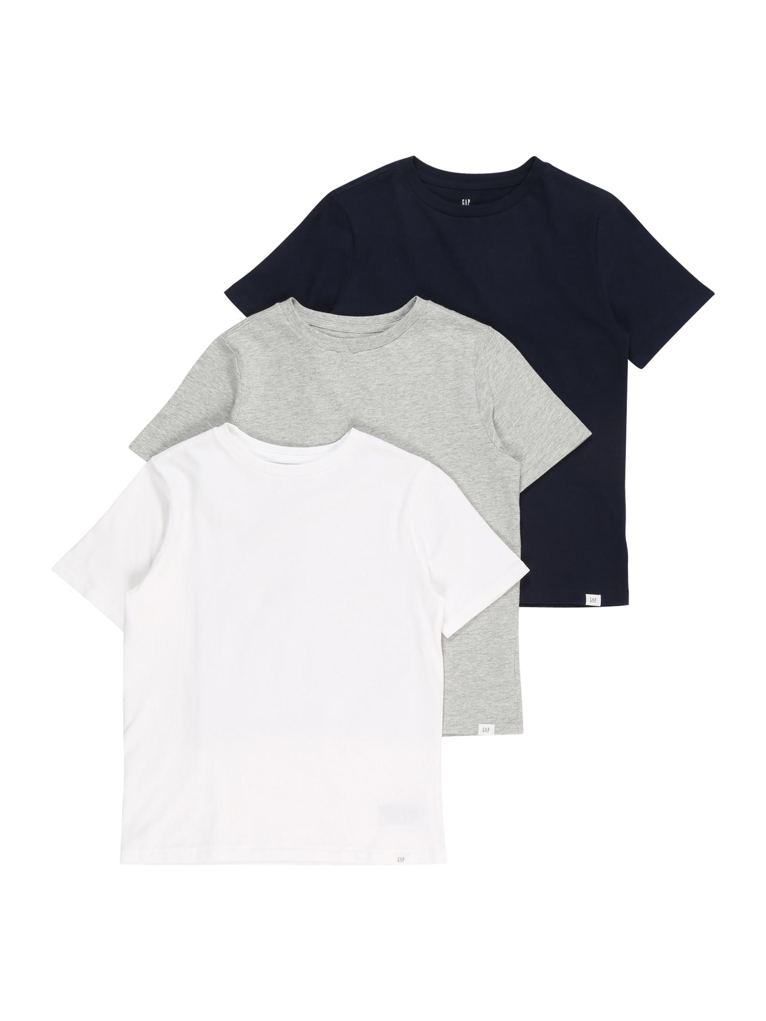 GAP Tričko  modrá / šedá / bílá