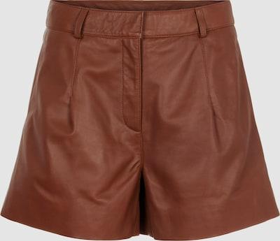 Y.A.S Venna Mid Waisted Leder Shorts