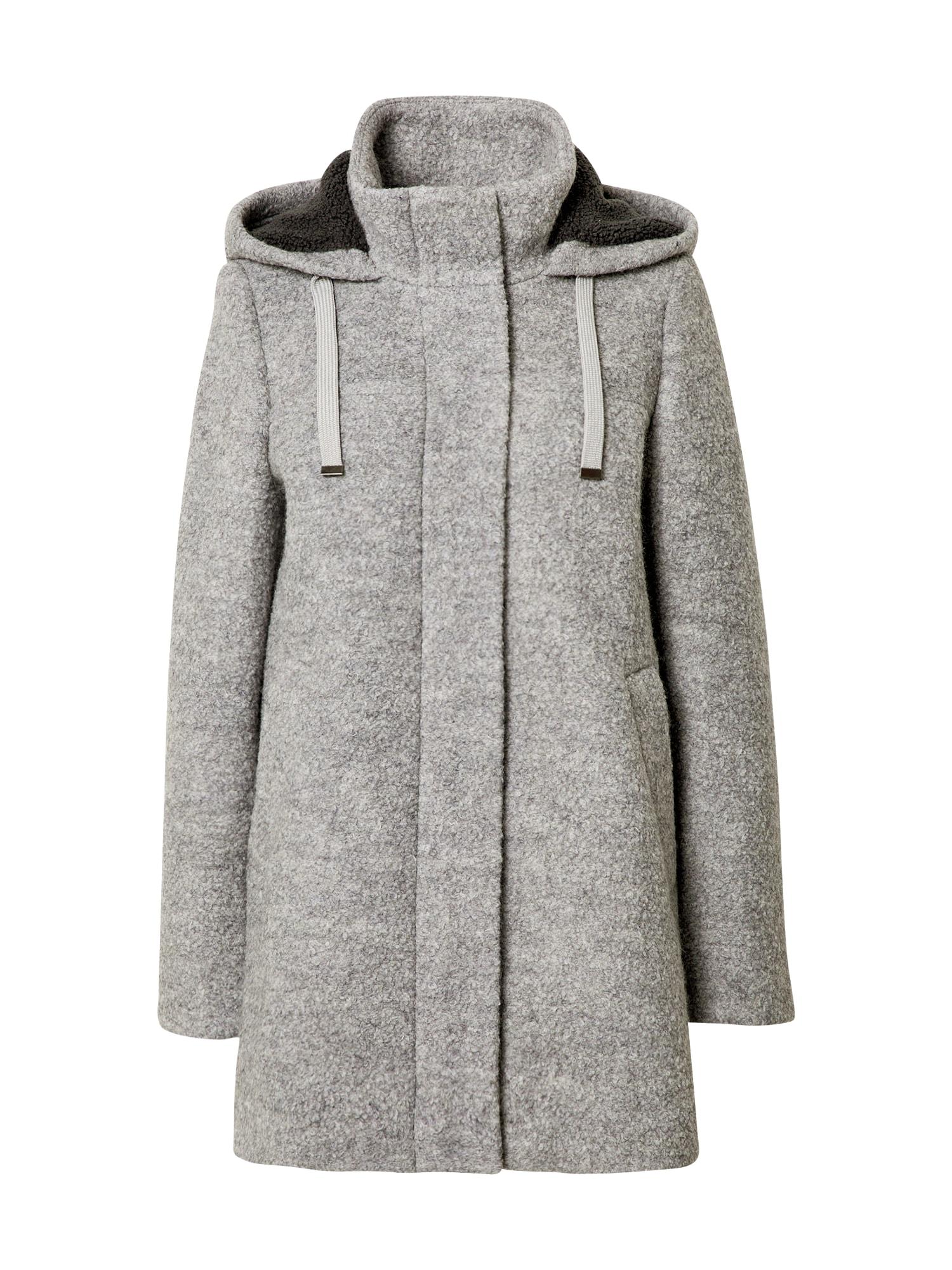 EDC BY ESPRIT Demisezoninis paltas pilka