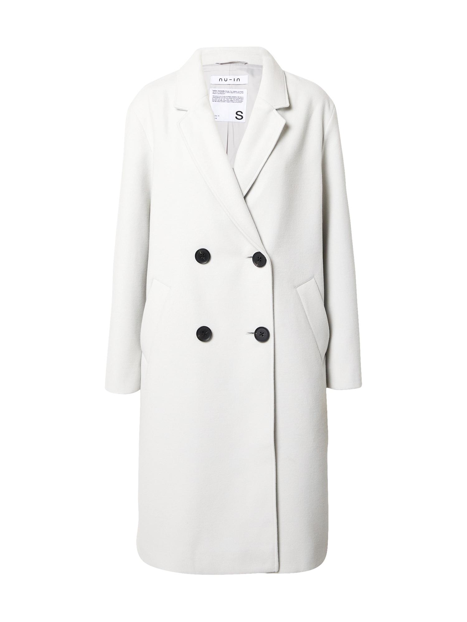 NU-IN Demisezoninis paltas šviesiai pilka