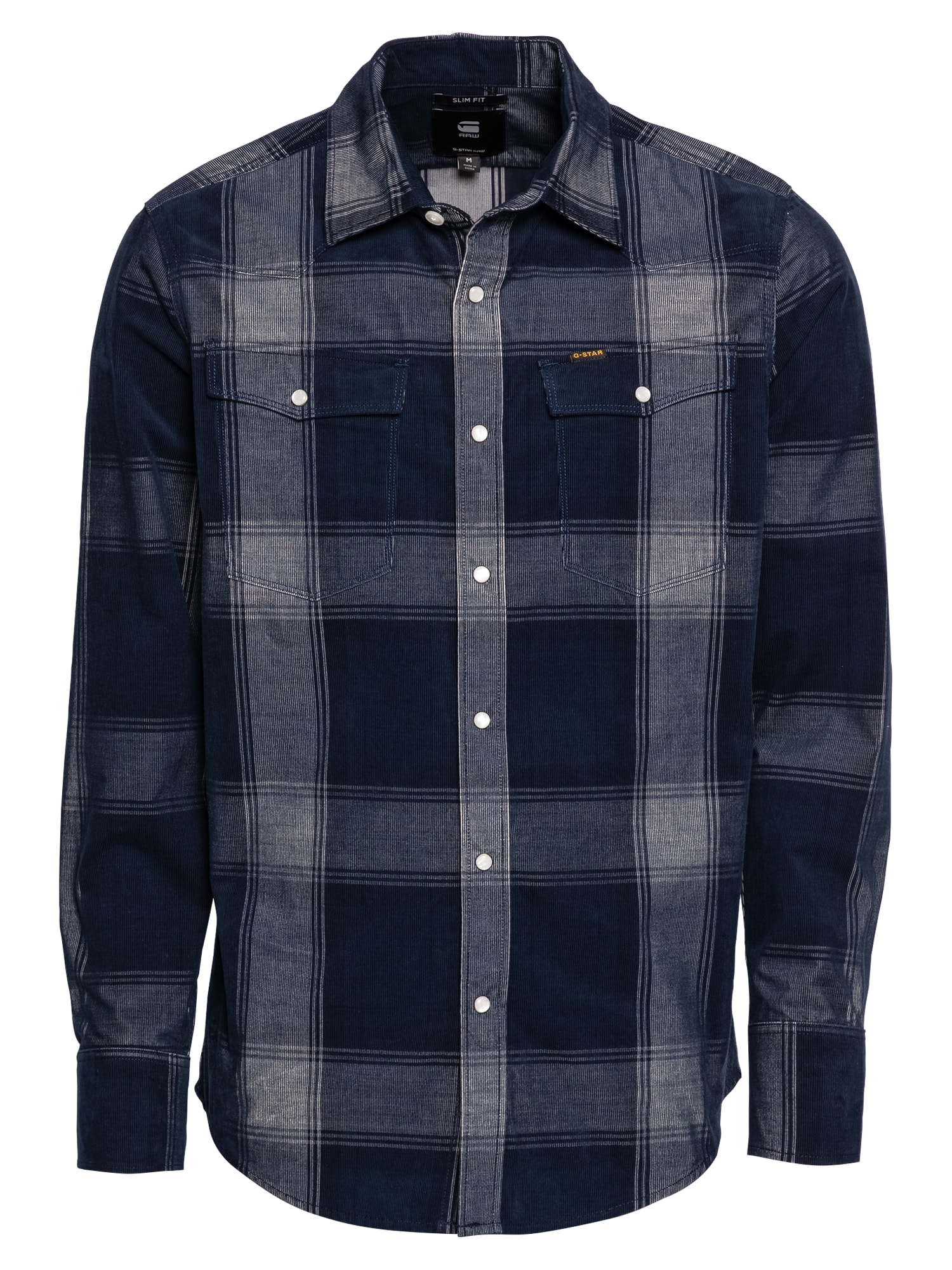G-Star RAW Marškiniai mėlyna / azuro