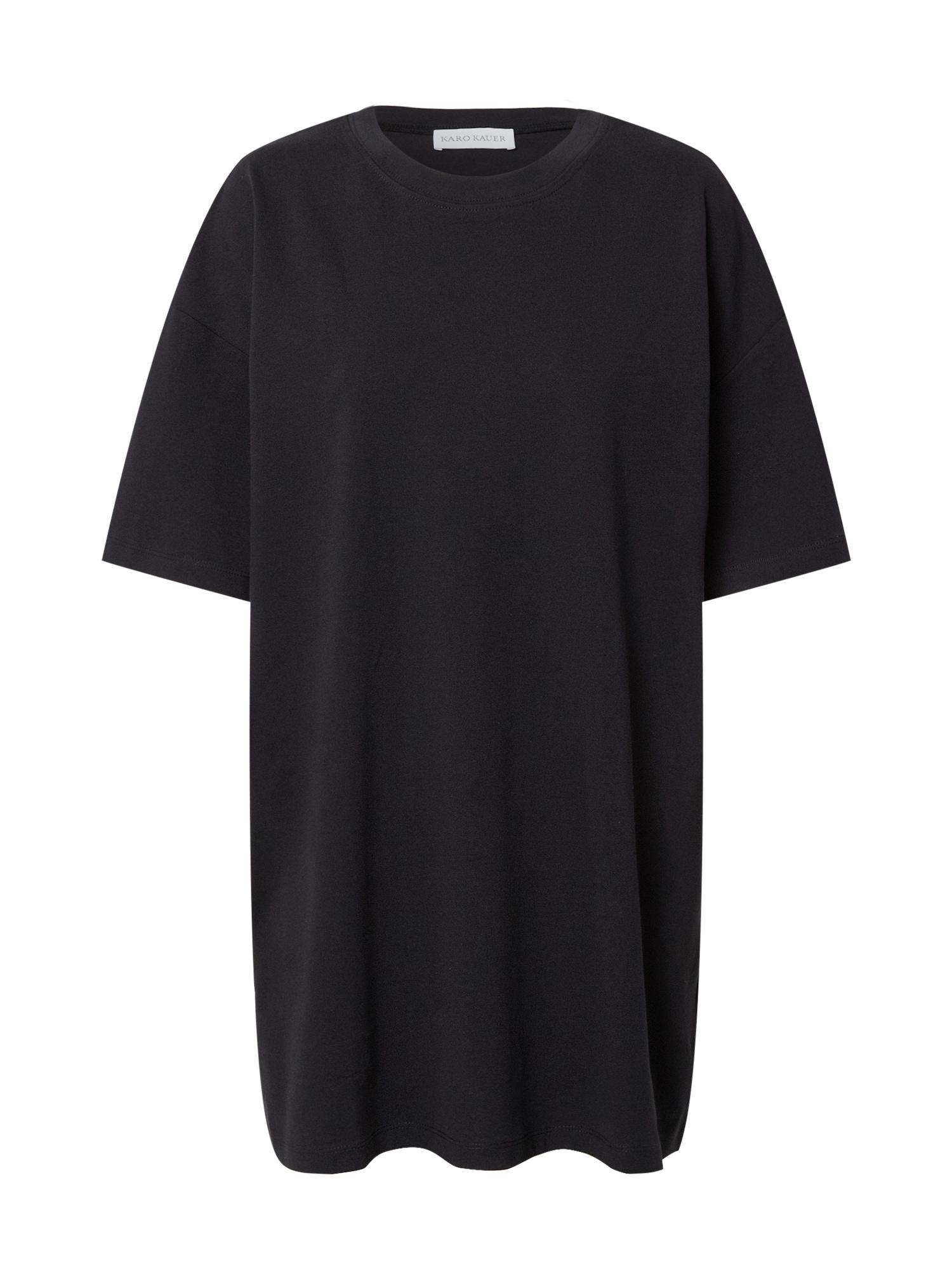 Karo Kauer Oversized tričko  černá