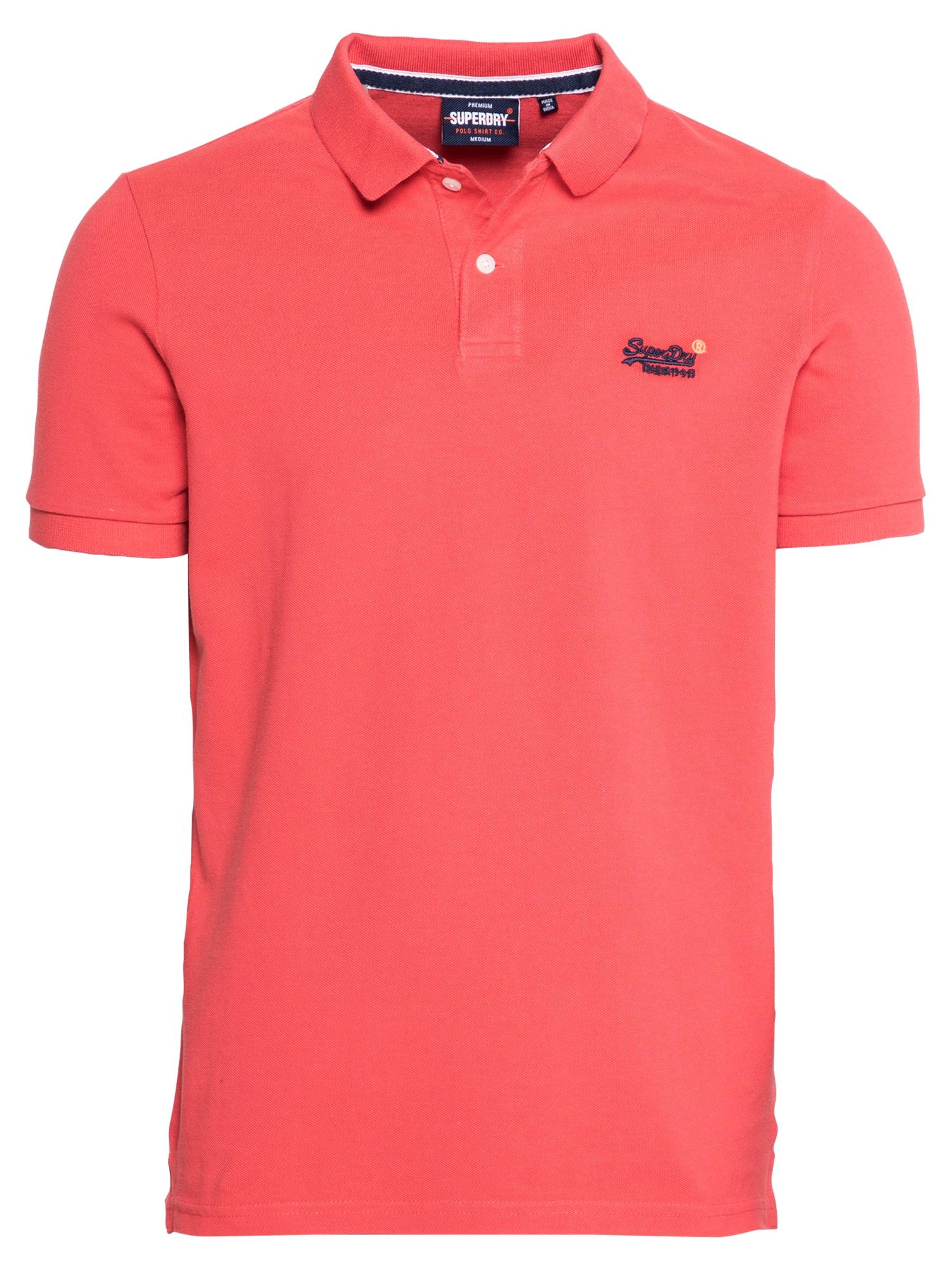 Superdry Marškinėliai šviesiai raudona