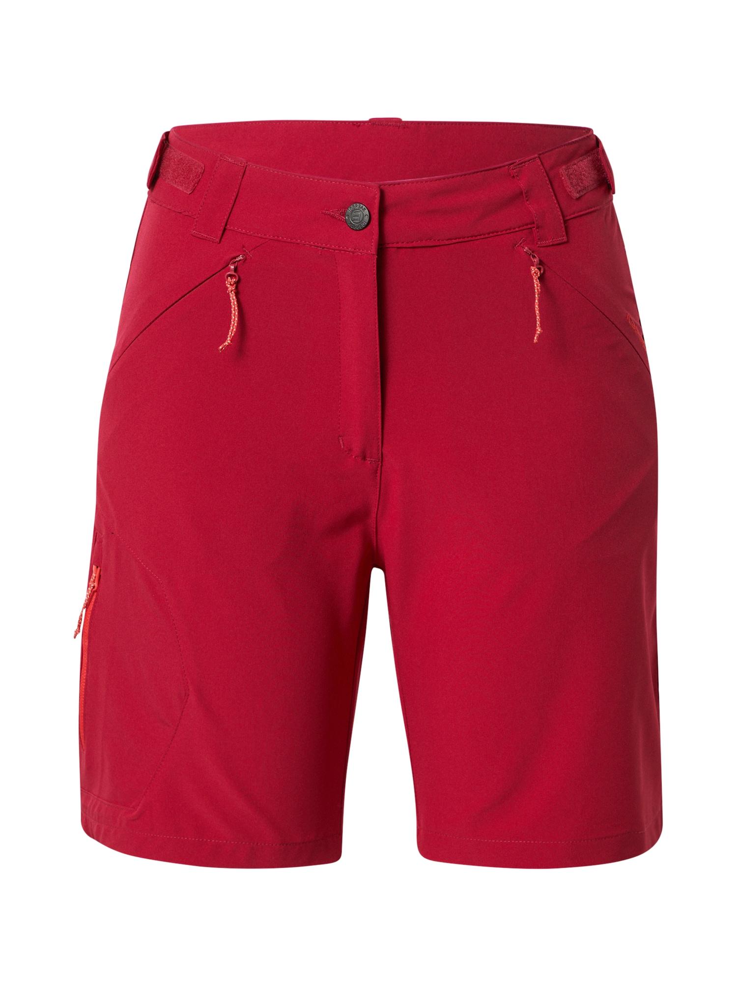 ICEPEAK Laisvalaikio kelnės raudona