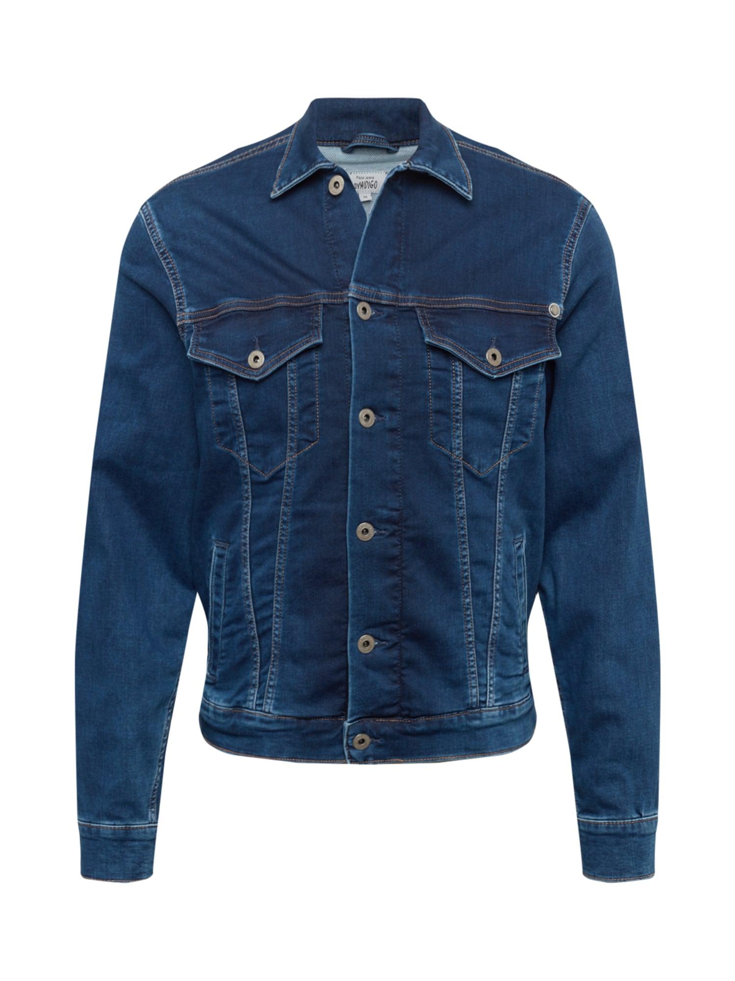 Pepe Jeans Demisezoninė striukė 'PINNER' tamsiai (džinso) mėlyna