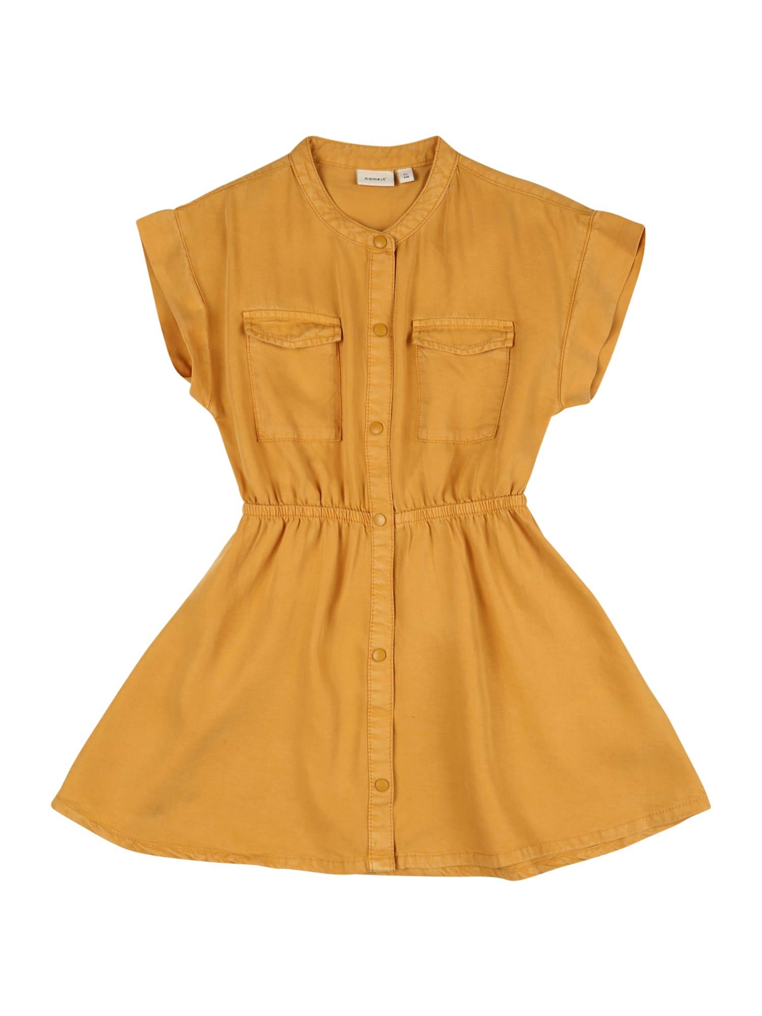 NAME IT Suknelė geltona