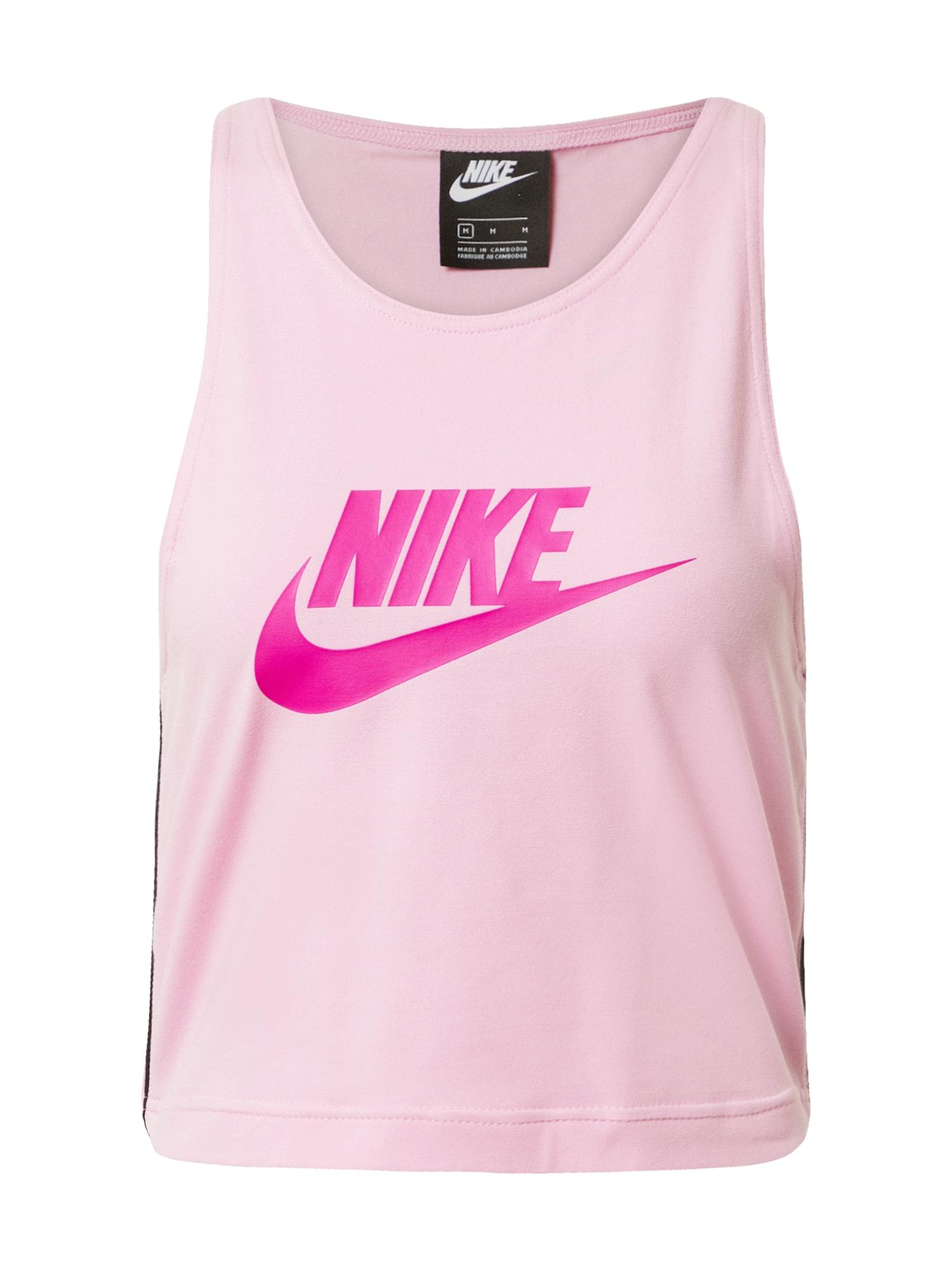 Nike Sportswear Palaidinė be rankovių rožių spalva