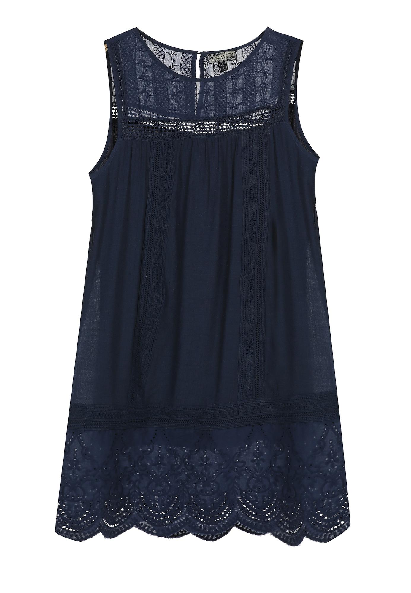 DreiMaster Vintage Vasarinė suknelė tamsiai mėlyna jūros spalva