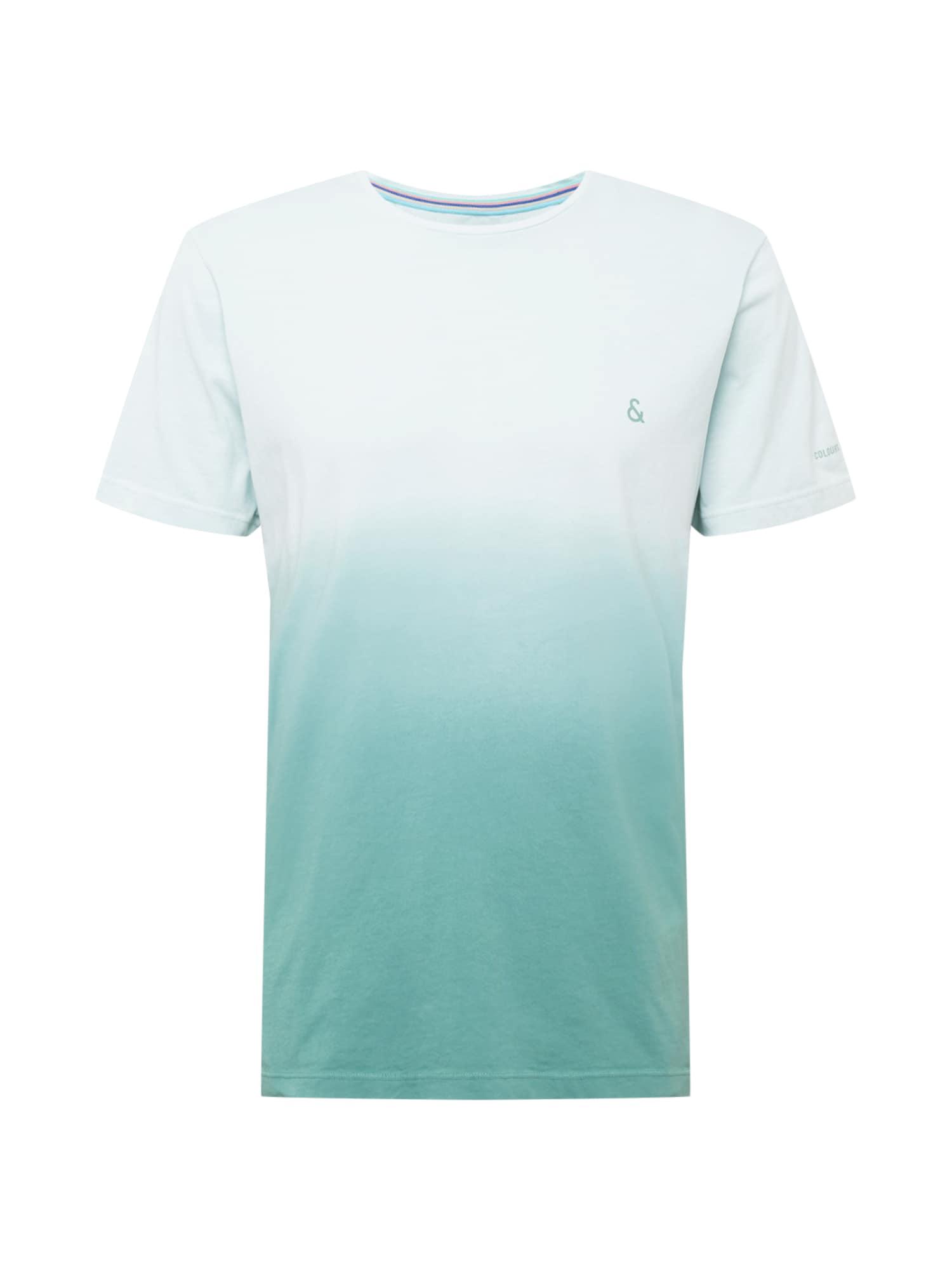 COLOURS & SONS Marškinėliai azuro spalva / pastelinė mėlyna