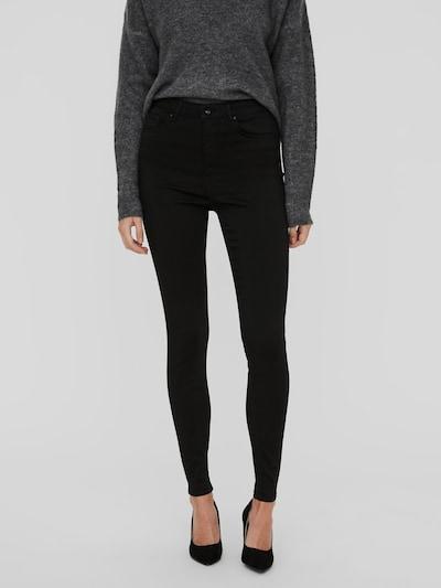 Vero Moda Sophia Schwarze Skinny Jeans mit hoher Taille