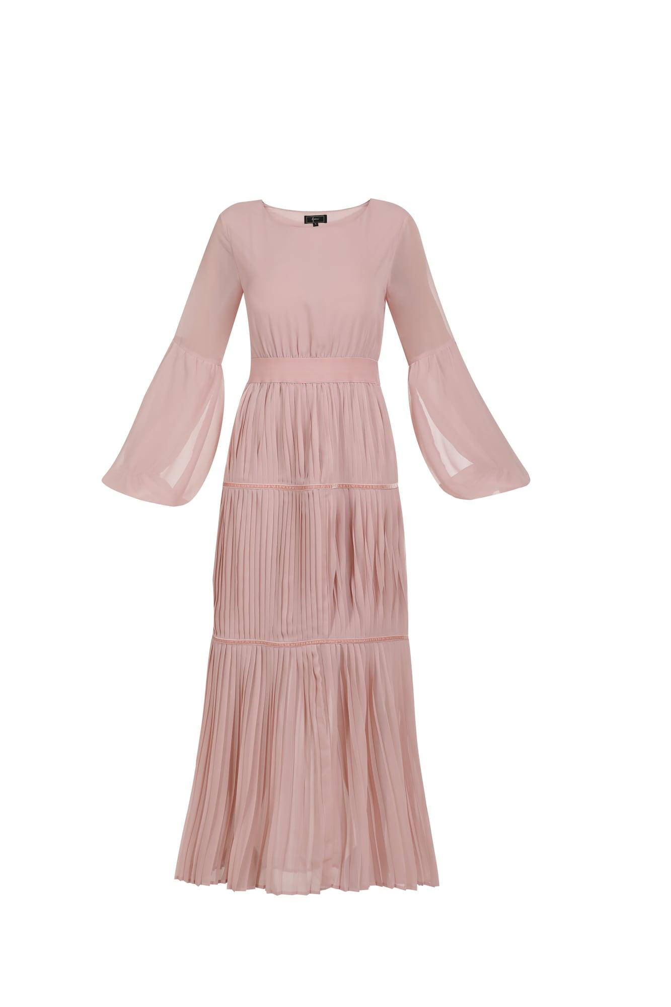 faina Vakarinė suknelė ryškiai rožinė spalva