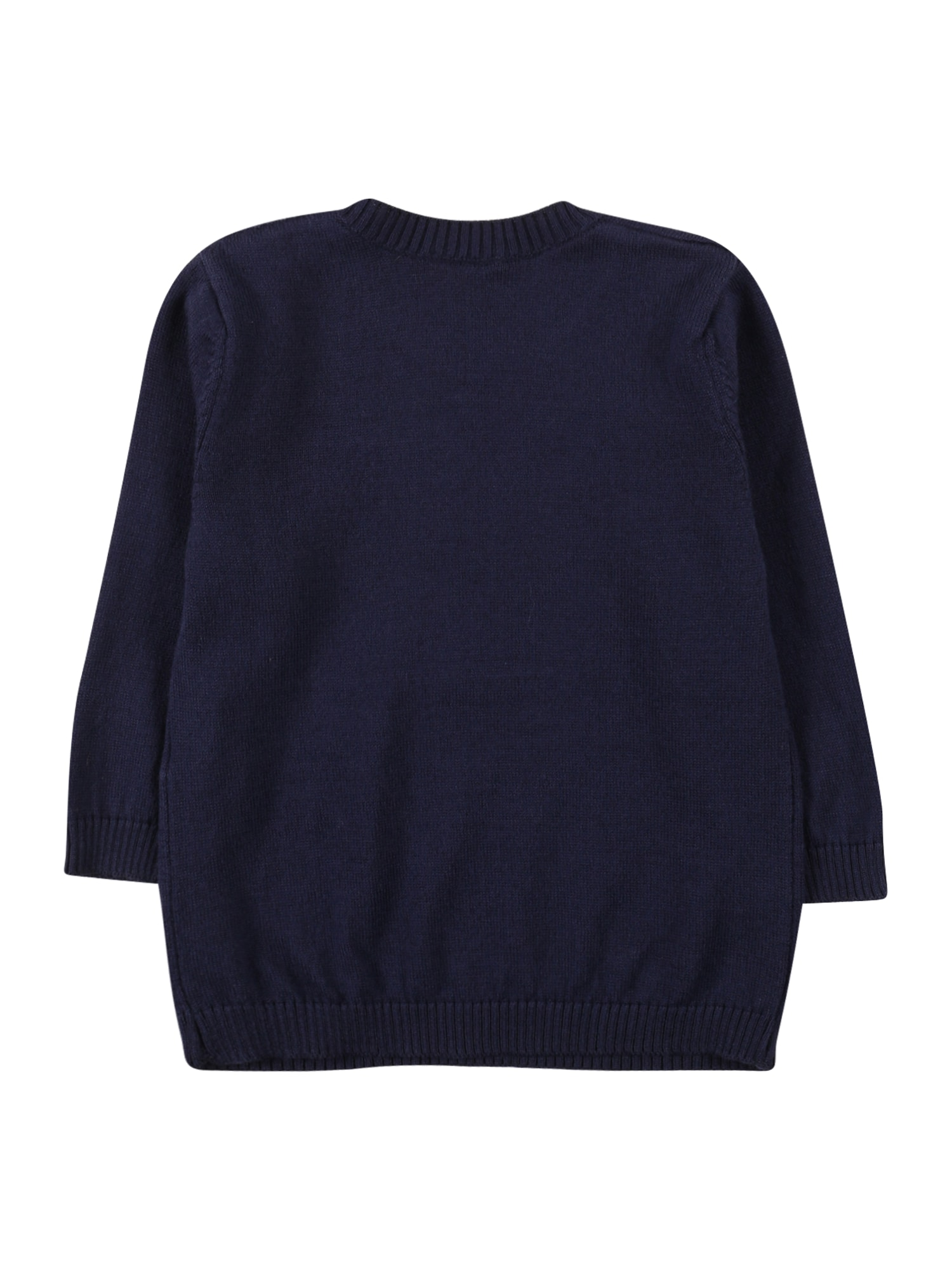 UNITED COLORS OF BENETTON Pull-over  bleu nuit / blanc