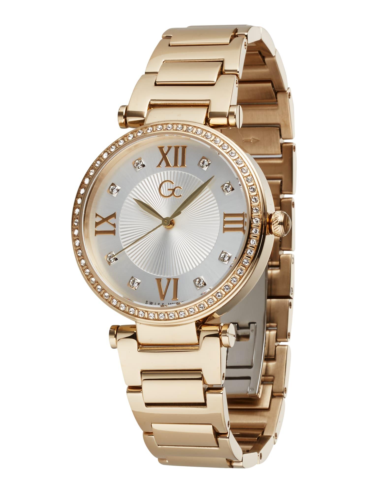Gc Analoginis (įprasto dizaino) laikrodis auksas