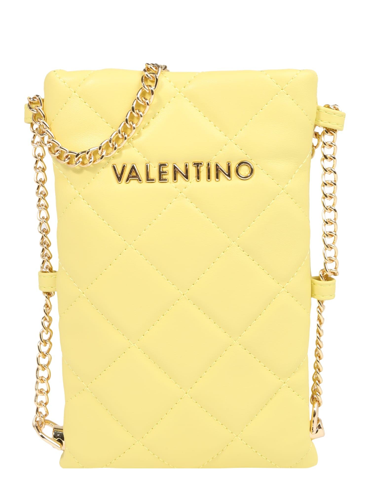 Valentino Bags Puzdro na mobil 'Ocarina'  žltá / zlatá.