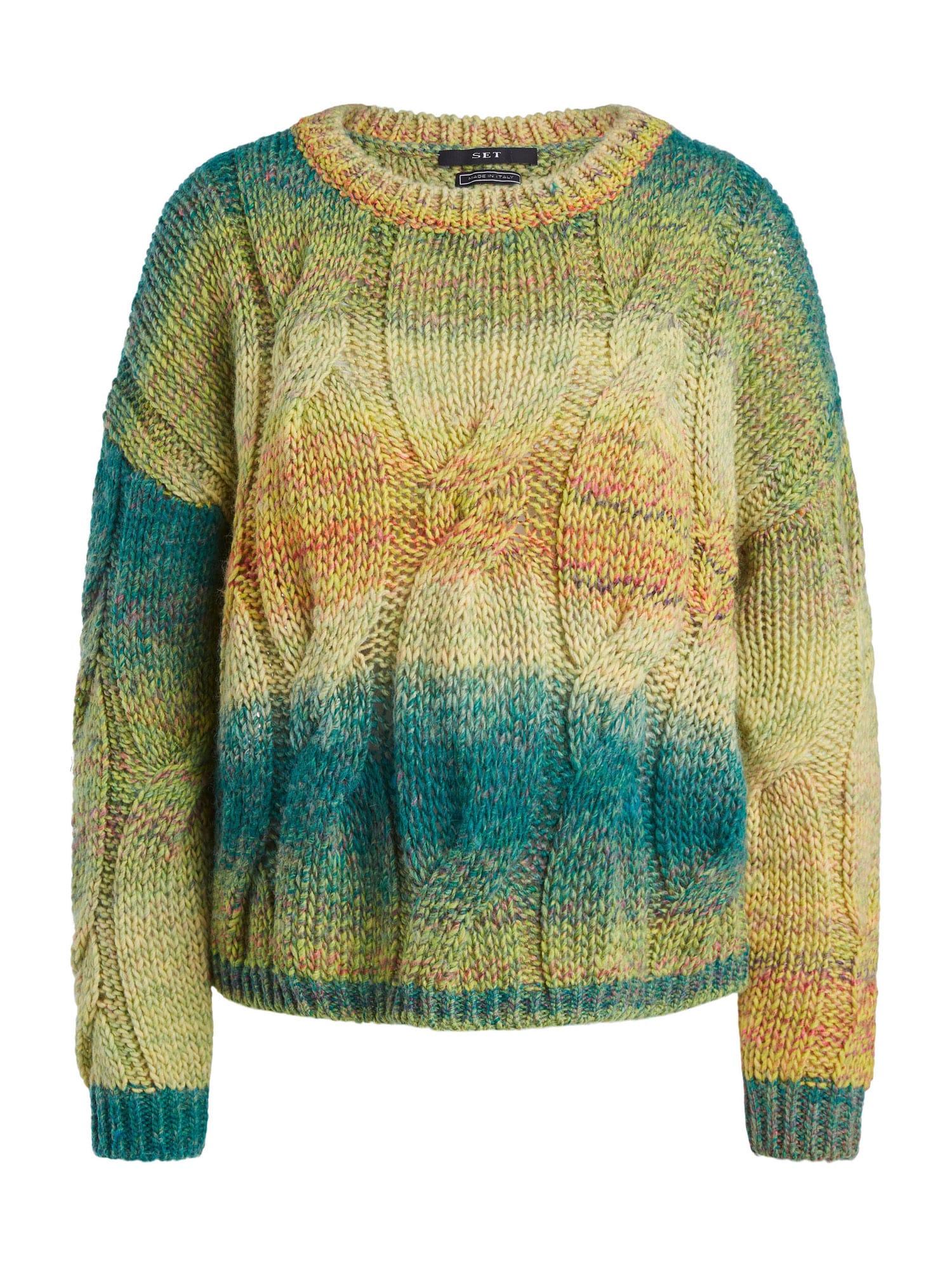 SET Megztinis benzino spalva / mišrios spalvos