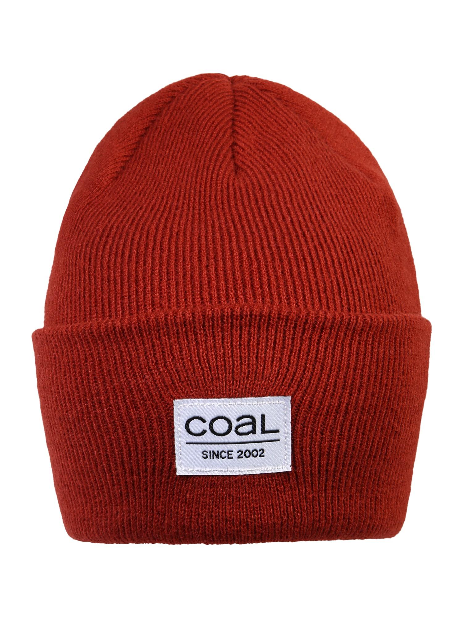 Coal Čepice  tmavě červená