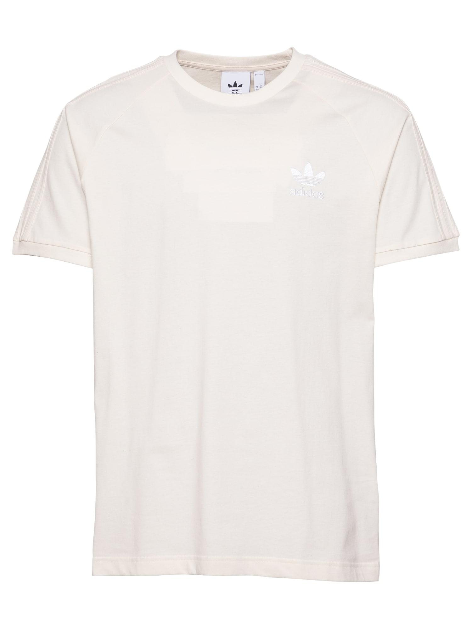ADIDAS ORIGINALS Marškinėliai balkšva
