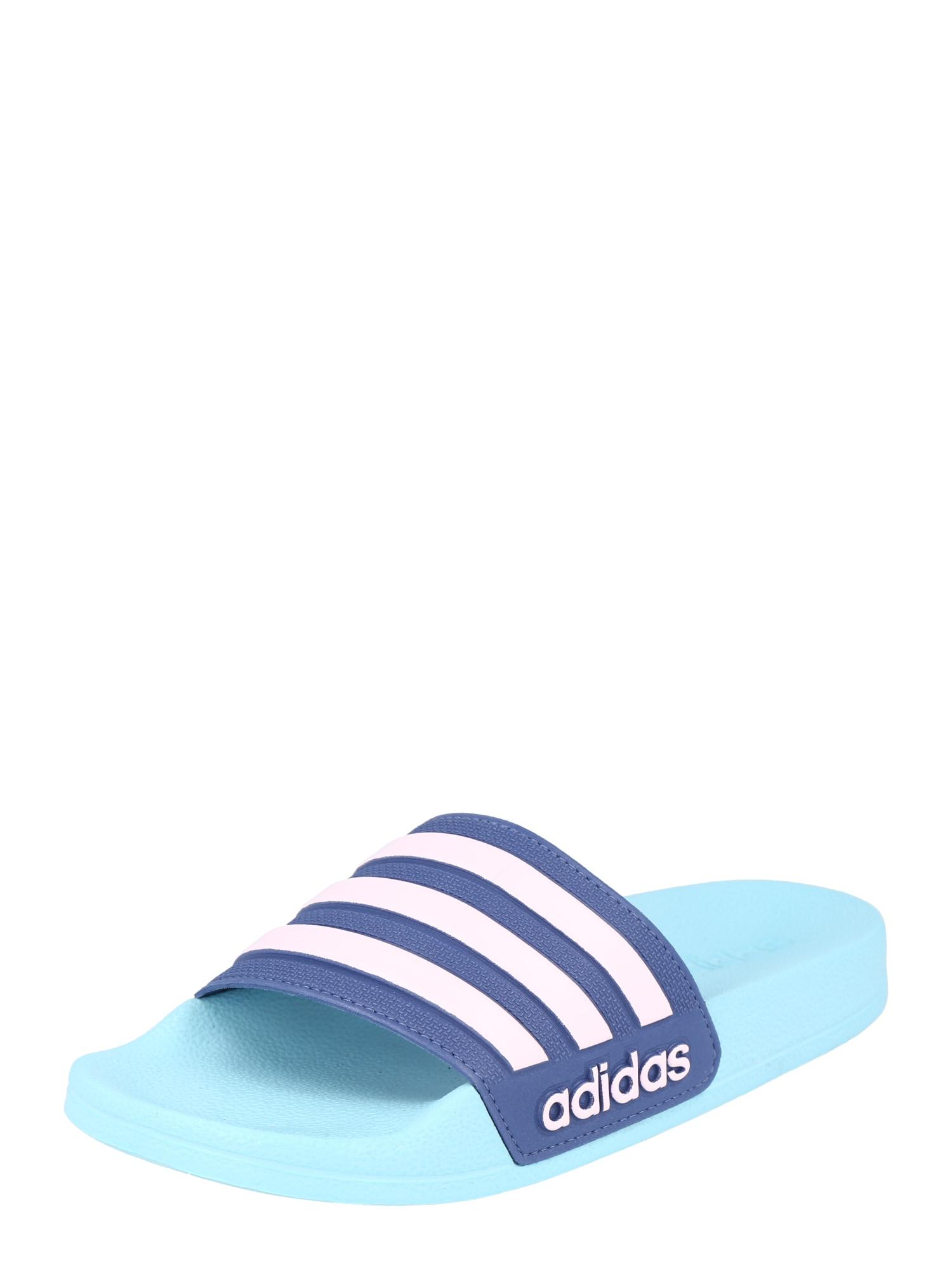 ADIDAS PERFORMANCE Sandalai / maudymosi batai mėlyna / turkio spalva / balta