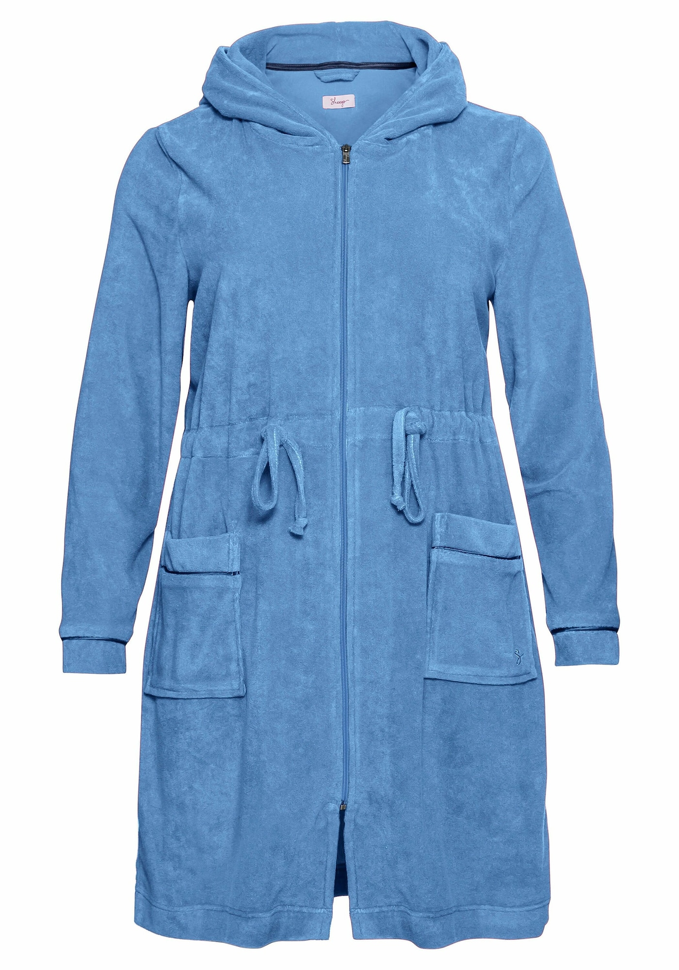 SHEEGO Trumpas vonios chalatas mėlyna