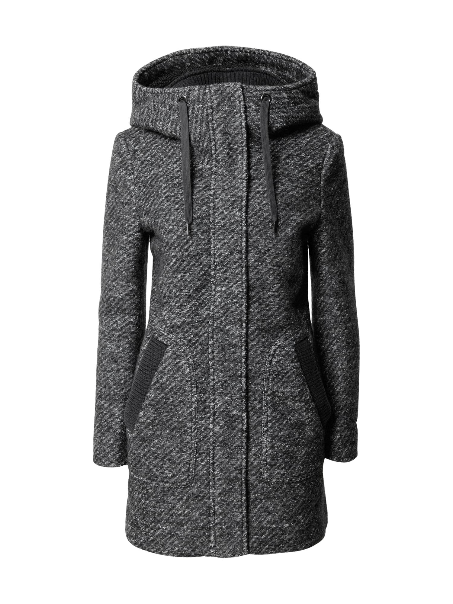 ESPRIT Demisezoninis paltas tamsiai pilka