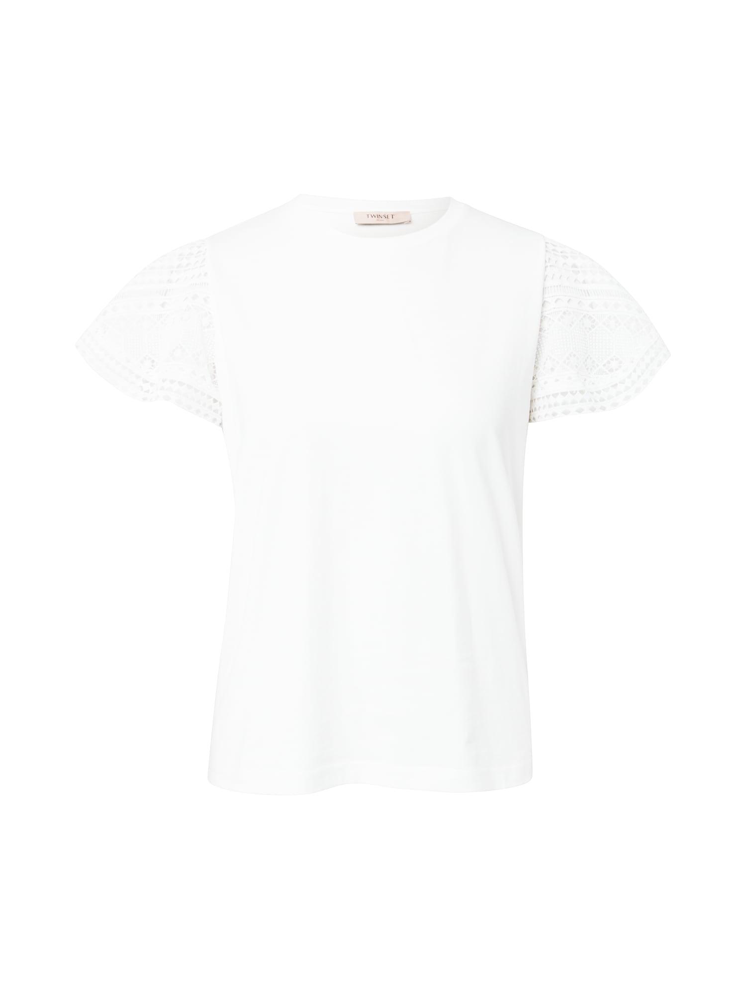 Twinset Marškinėliai balta